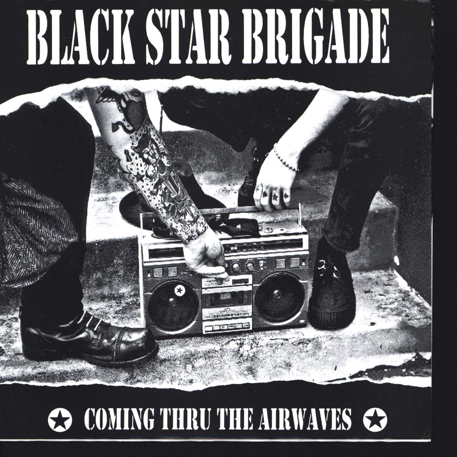"Black Star Brigade: Coming Thru The Airwaves, 7"" Single (Vinyl)"