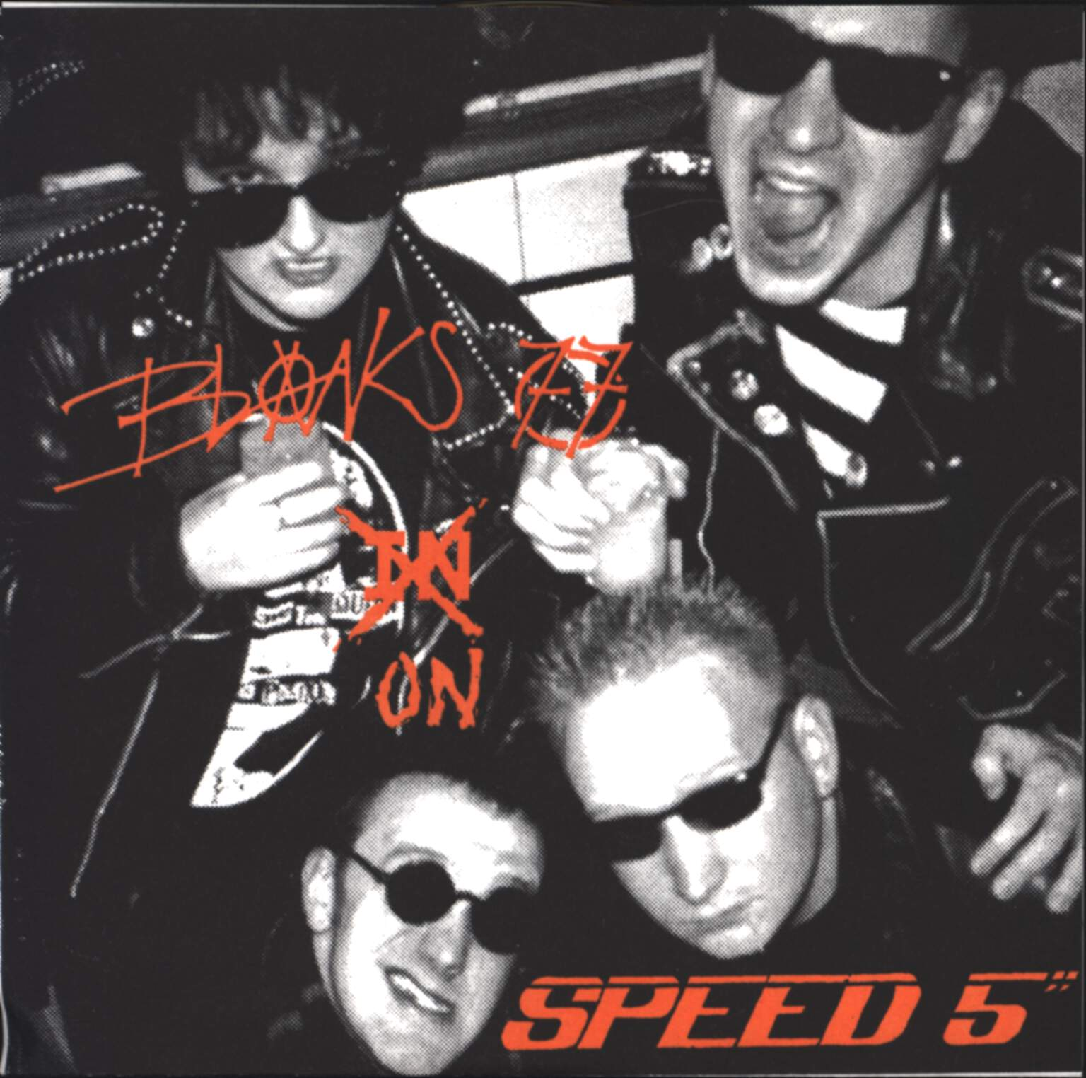 "Blanks 77: Speed 5"", 5"" Vinyl Single"