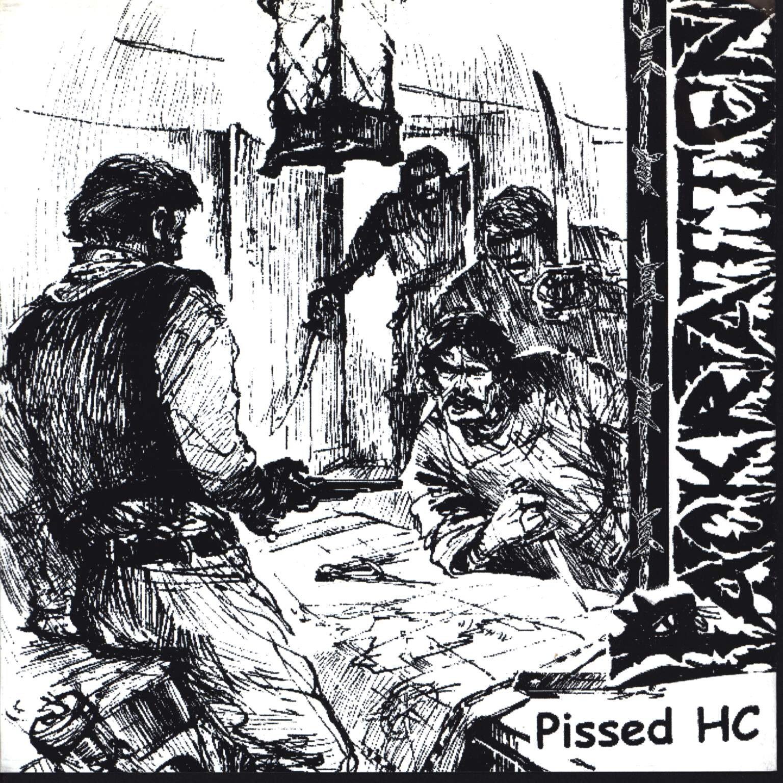 "Packratten: Pissed HC / Tiefschlafsyndrom, 7"" Single (Vinyl)"