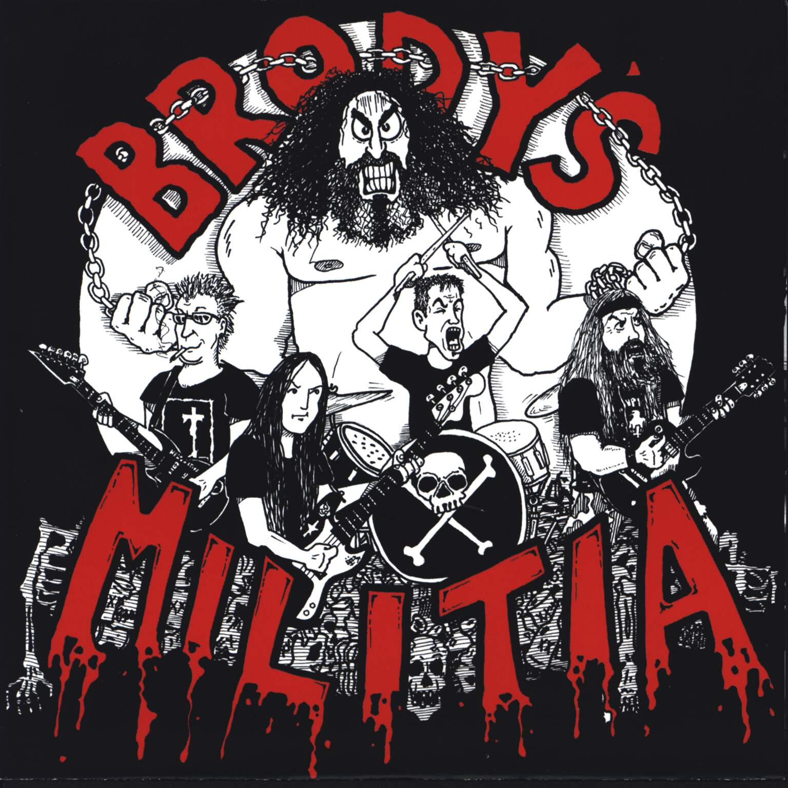 "Brody'S Militia: Tribute Through Butchery, 7"" Single (Vinyl)"