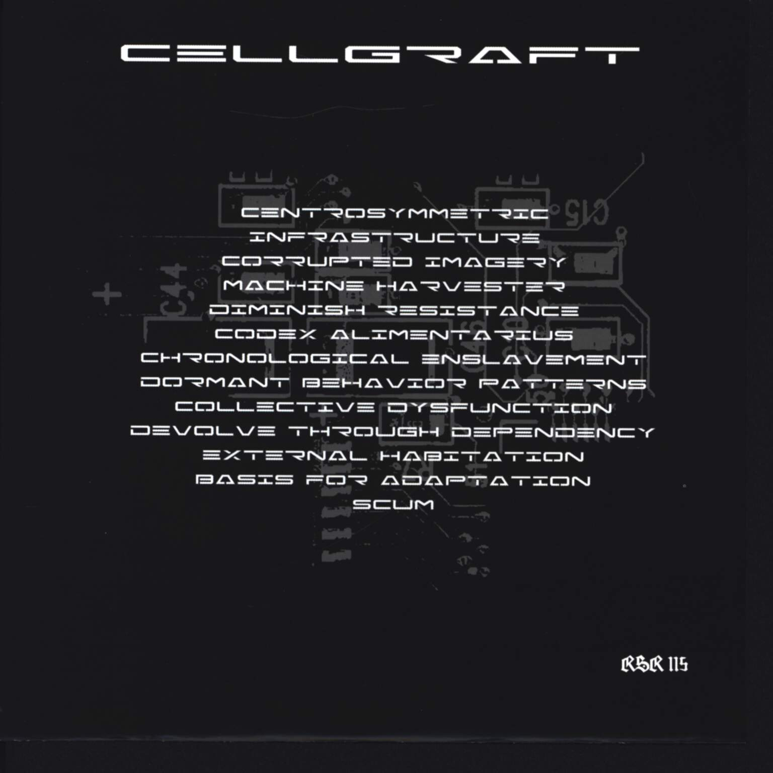 "Cellgraft: External Habitation, 7"" Single (Vinyl)"