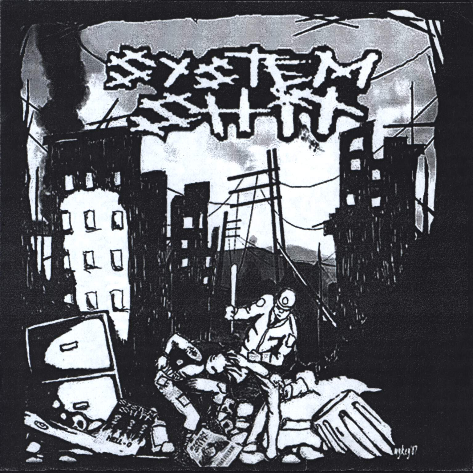 "Clusterfux: Clusterfux / System Shit, 7"" Single (Vinyl)"