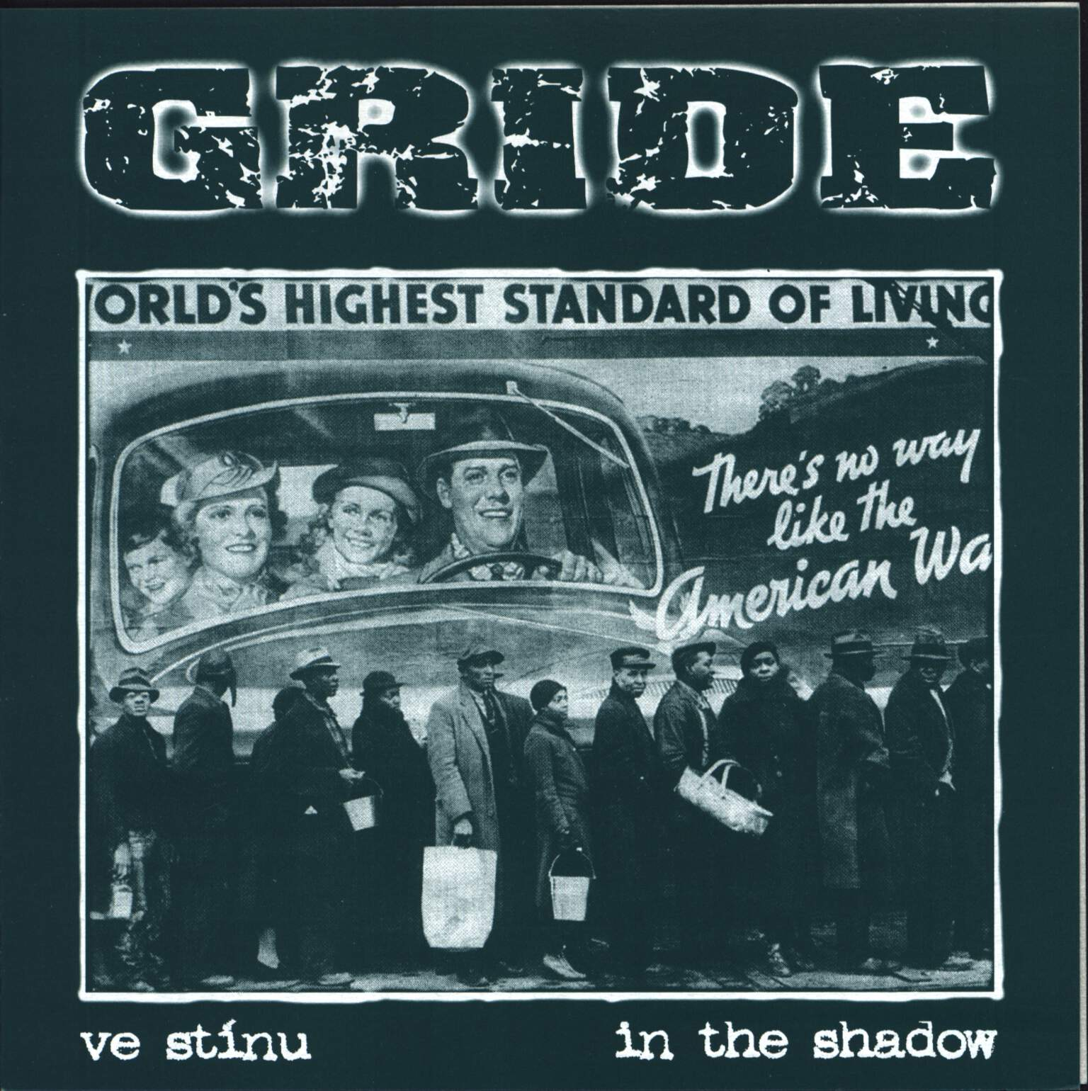 "Gride: Ve Stínu / Untitled, 7"" Single (Vinyl)"