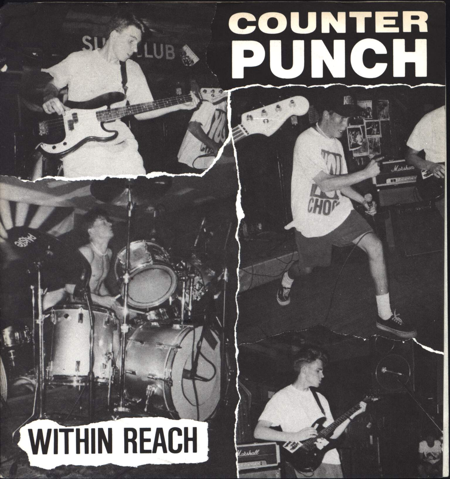 "Counter Punch: Within Reach, 7"" Single (Vinyl)"