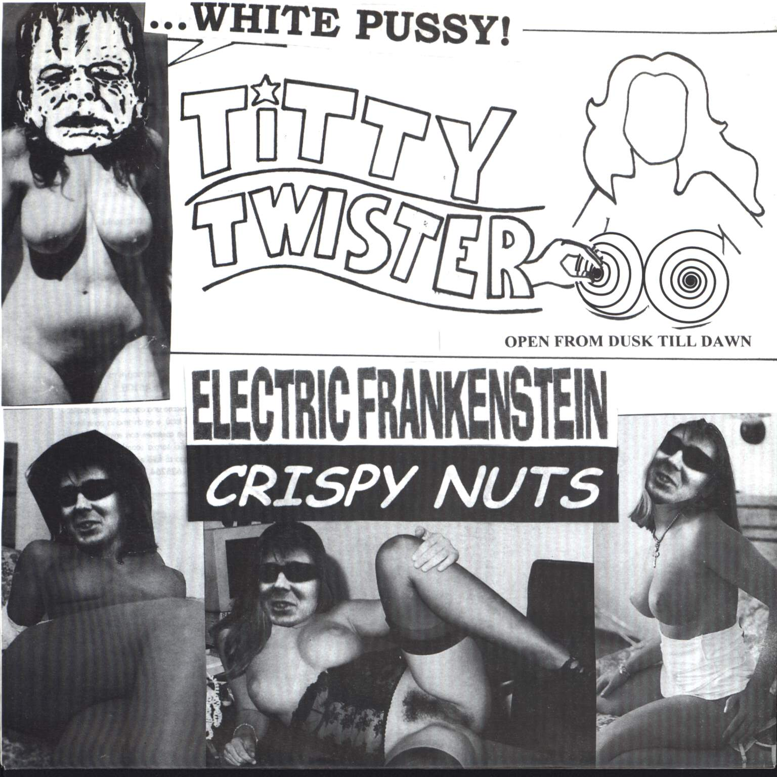 "Electric Frankenstein: White Pussy At Titty Twister, 7"" Single (Vinyl)"