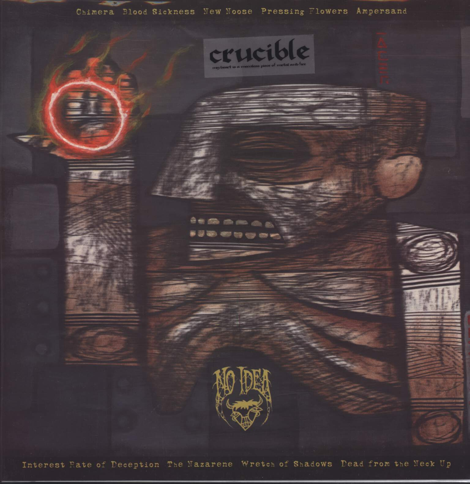 "Crucible: My Heart Is A Merciless Piece Of Metal And Fire, 12"" Maxi Single (Vinyl)"
