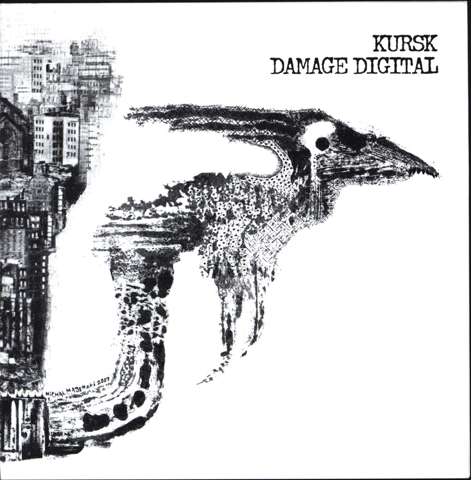 "Kursk: Kursk / Damage Digital, 7"" Single (Vinyl)"