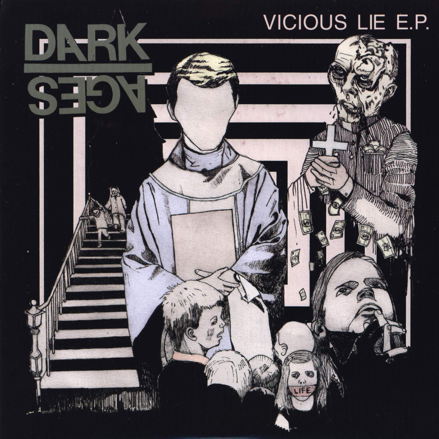 "Dark Ages: Vicious Lie E.P., 7"" Single (Vinyl)"
