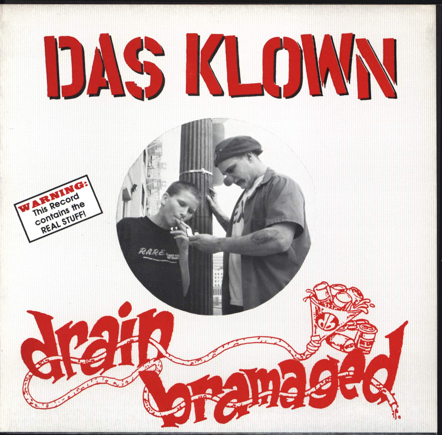 "Das Klown: Das Klown / Drain Bramaged, 7"" Single (Vinyl)"
