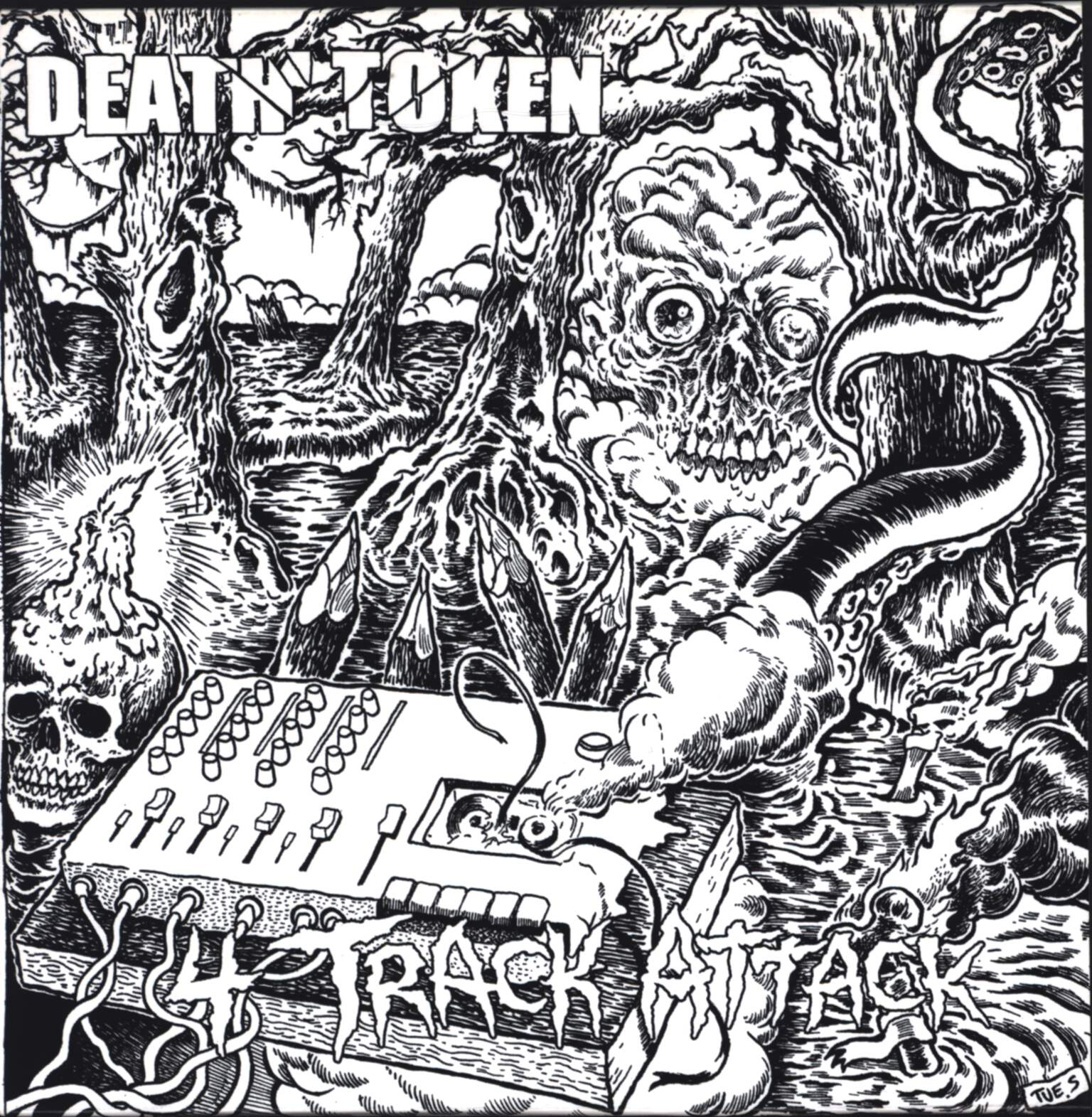 "Death Token: 4 Track Attack, 7"" Single (Vinyl)"