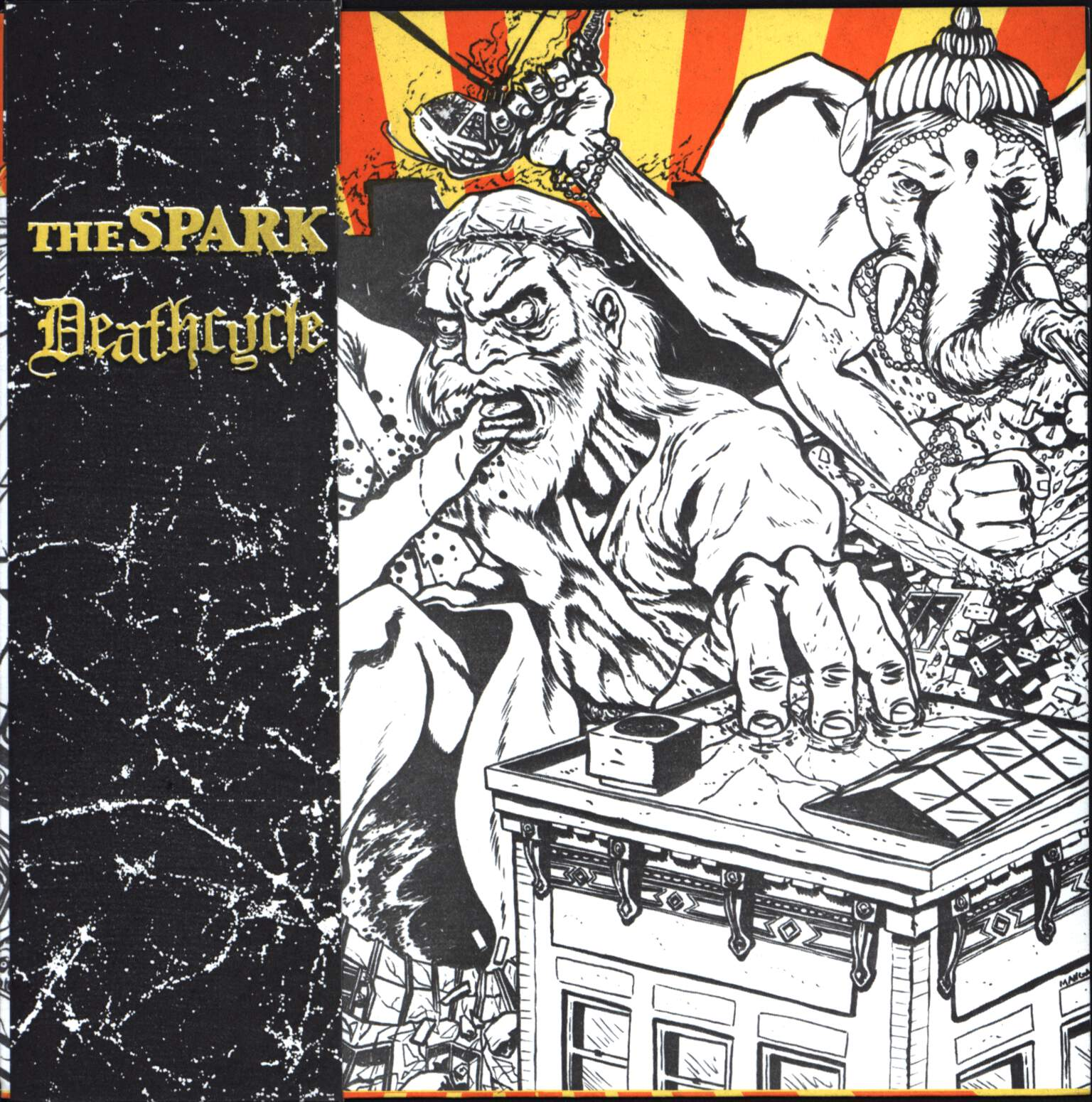"The Spark: The Spark / Deathcycle, 7"" Single (Vinyl)"