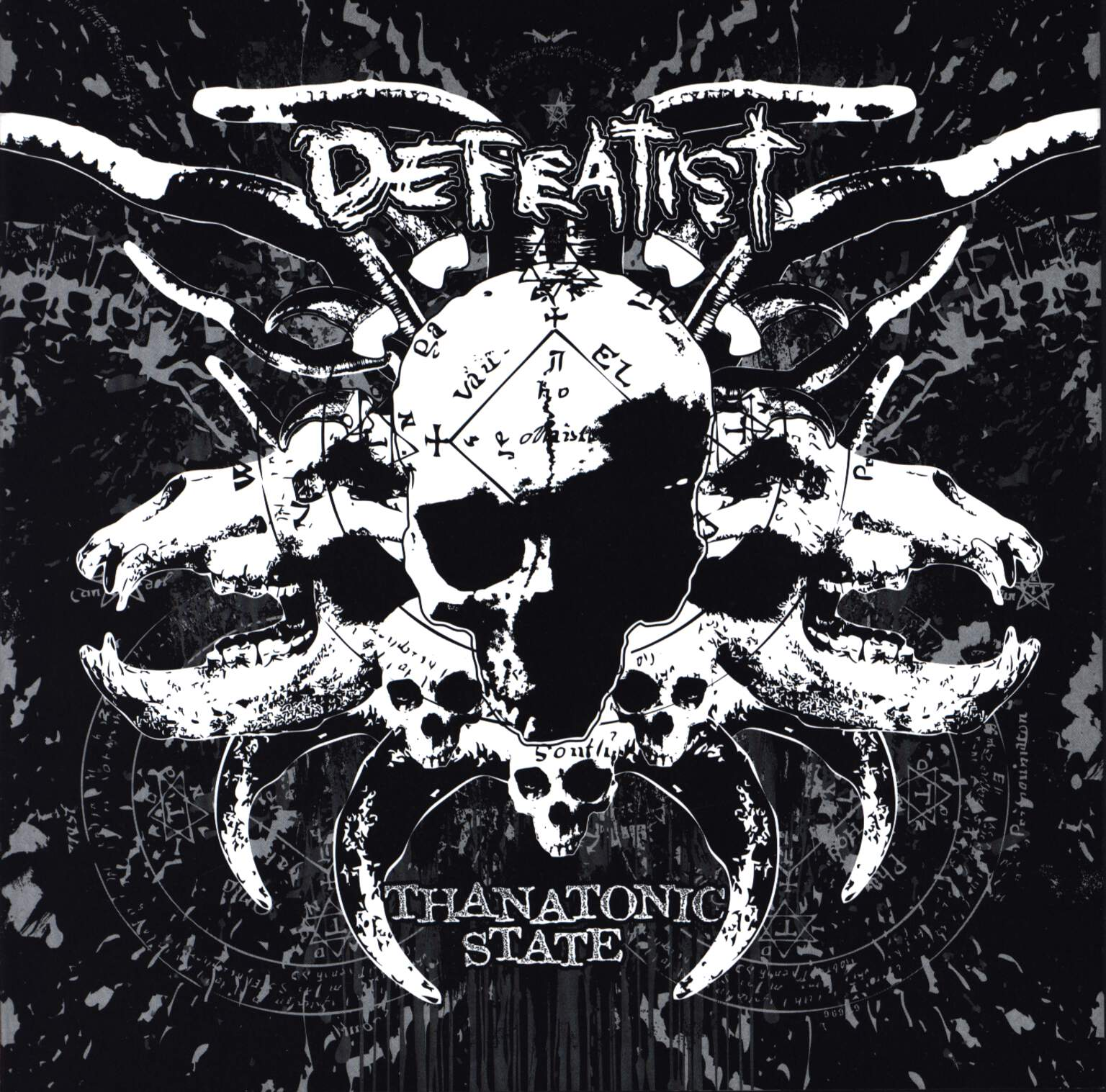 "Defeatist: Thanatonic State, 7"" Single (Vinyl)"
