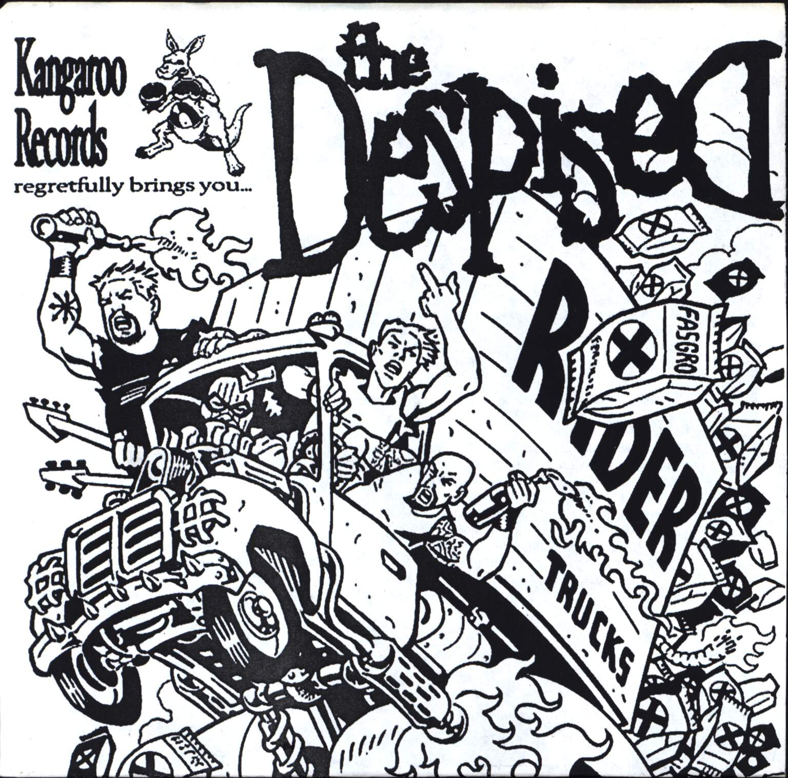 "The Despised: Scourge Of The South, 7"" Single (Vinyl)"