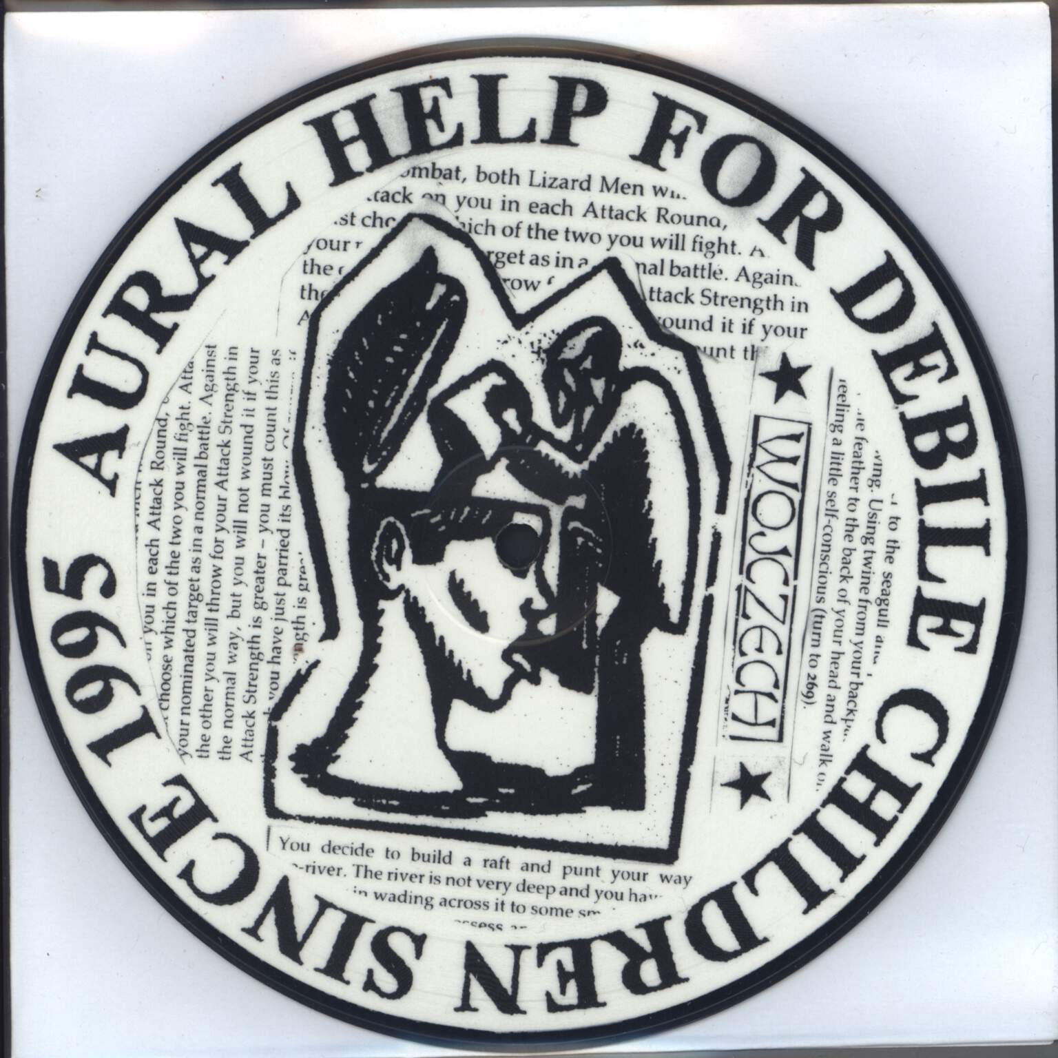 "Wojczech: Aural Help For Debile Children Since 1995 / Oppressione I Repressione, 7"" Single (Vinyl)"