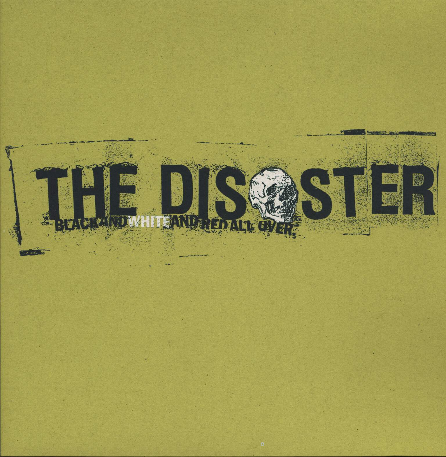 The Disaster: Black And White And Red All Over, LP (Vinyl)