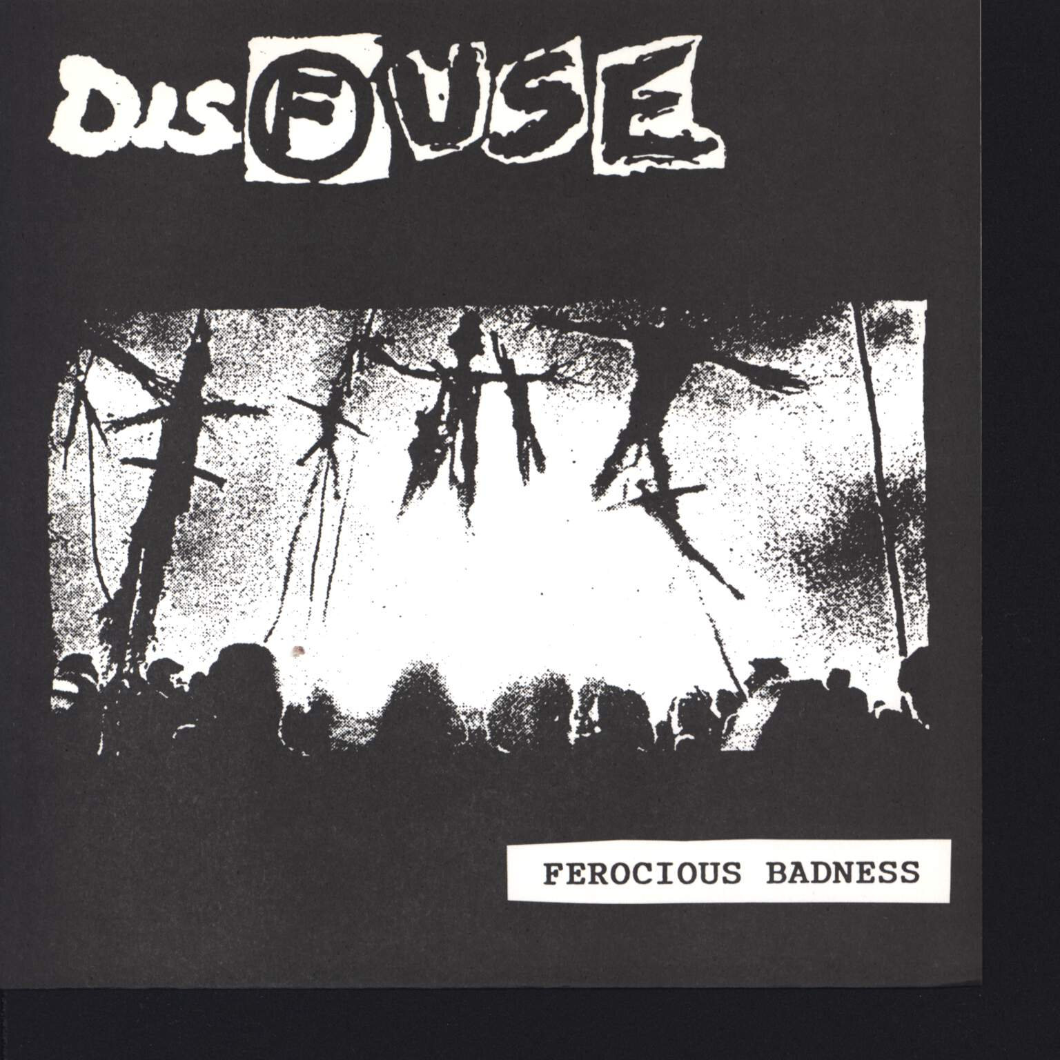 "Disfuse: Ferocious Badness / Direction Of Power, 7"" Single (Vinyl)"
