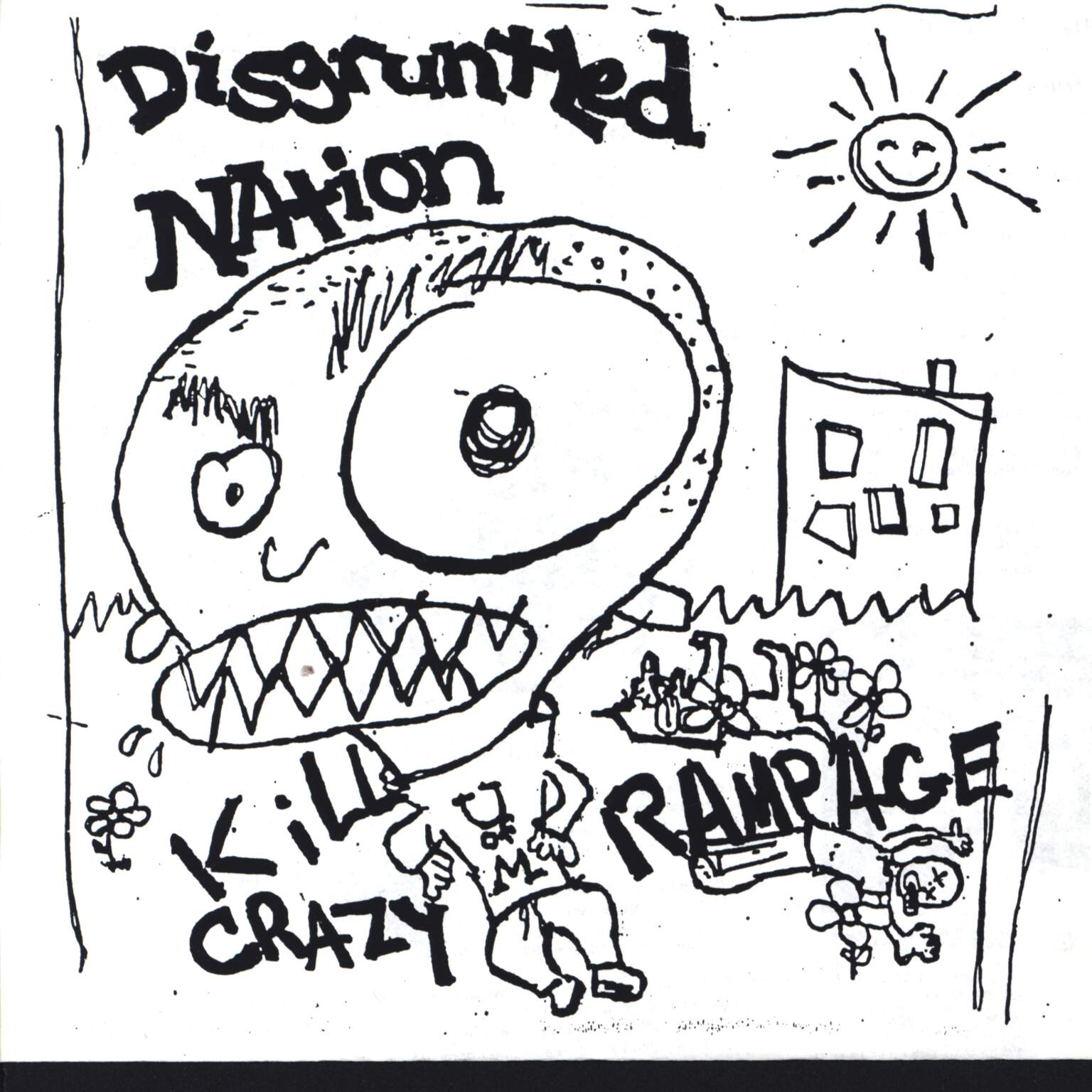 "Disgruntled Nation: Kill Crazy Rampage, 7"" Single (Vinyl)"