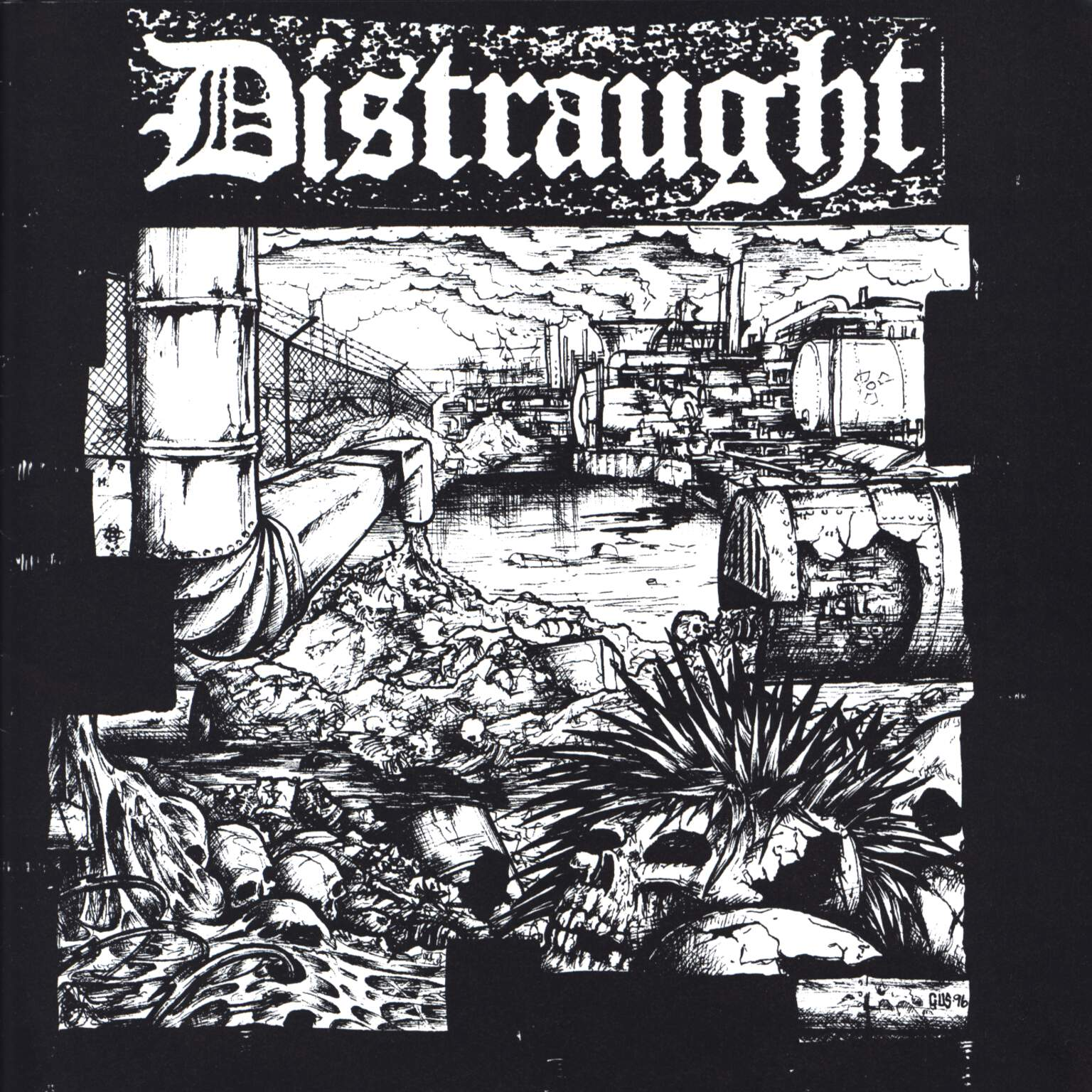"Distraught: Distraught EP, 7"" Single (Vinyl)"