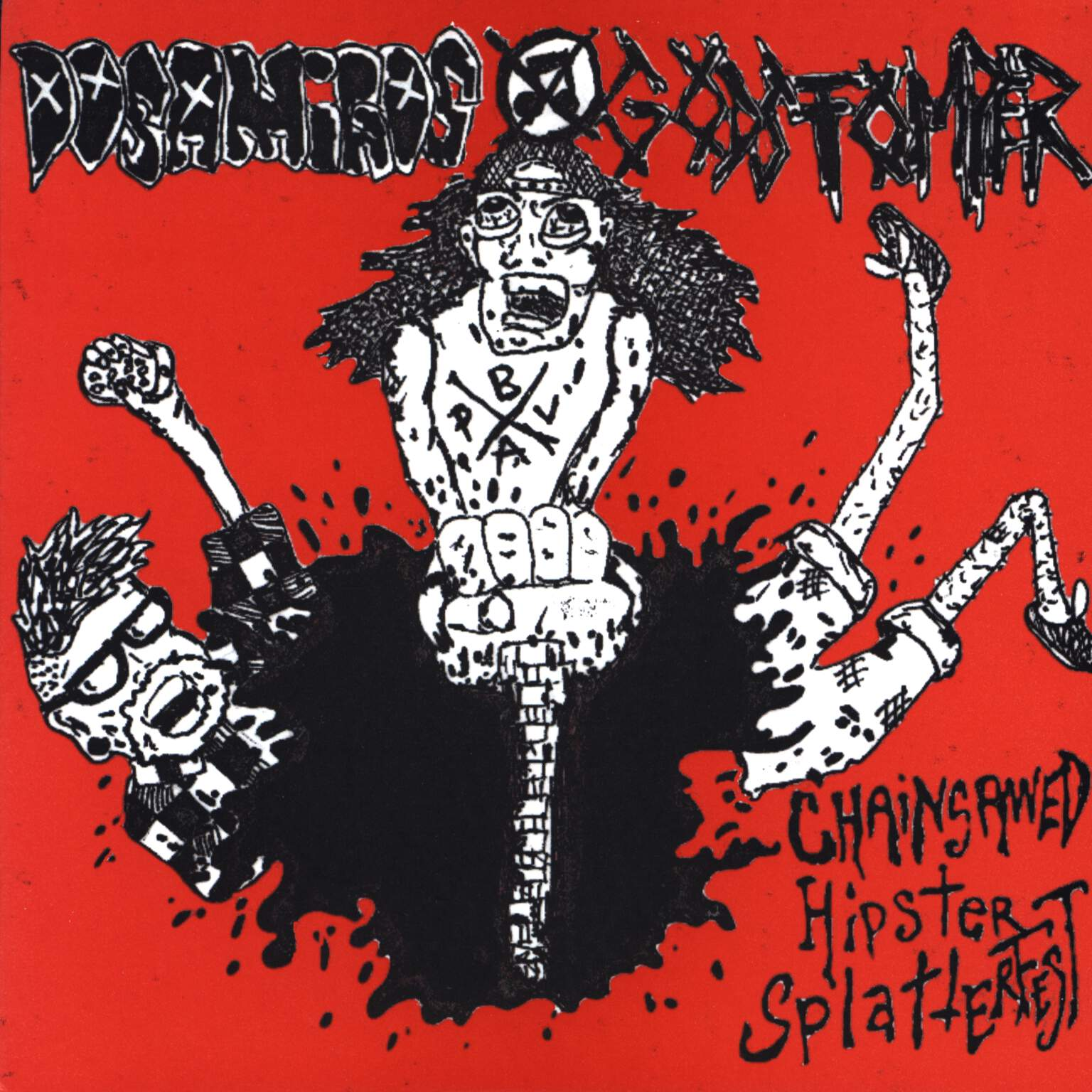 "Godstomper: Chainsawed Hipster Splatterfest, 7"" Single (Vinyl)"