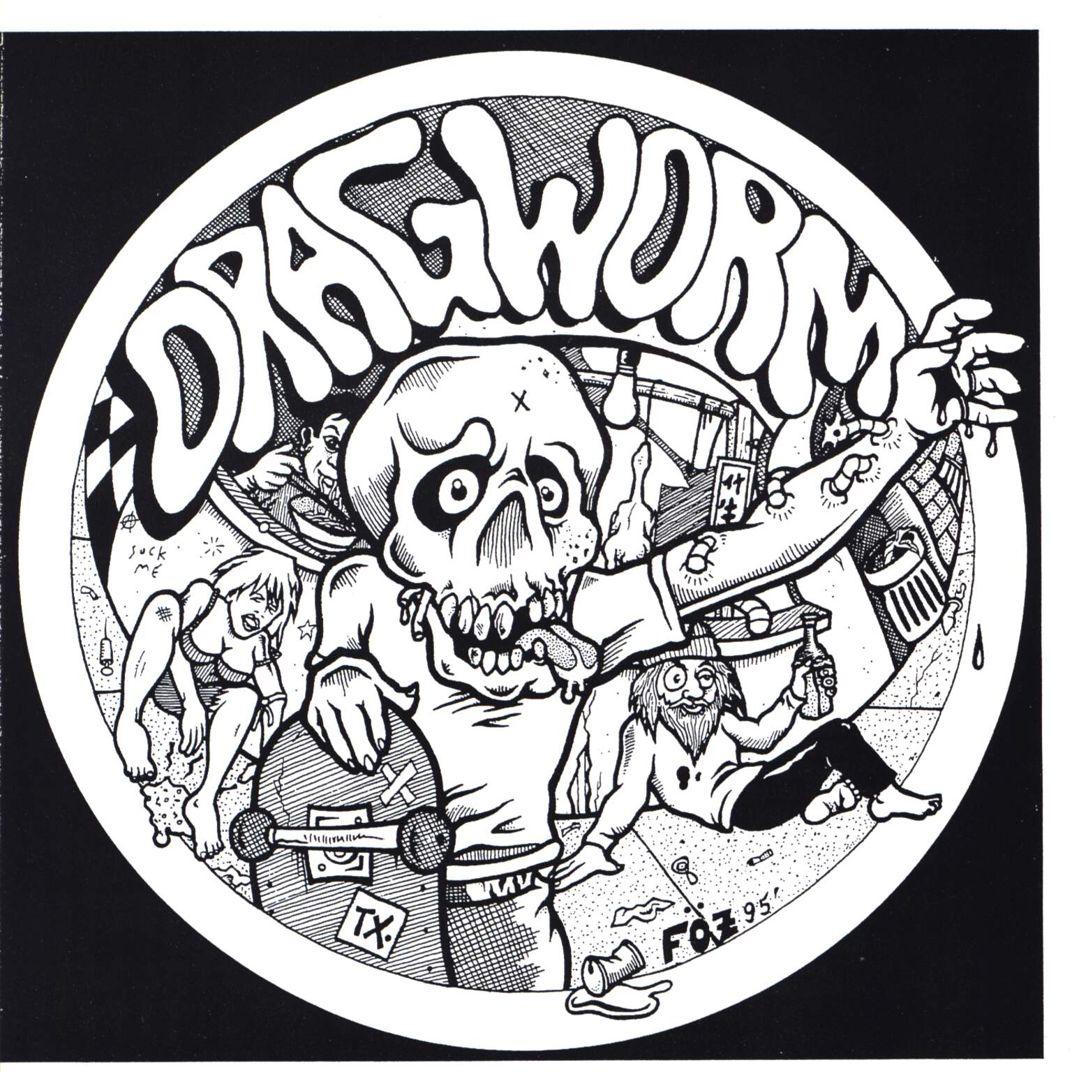 "Dragworm: Dragworm, 7"" Single (Vinyl)"