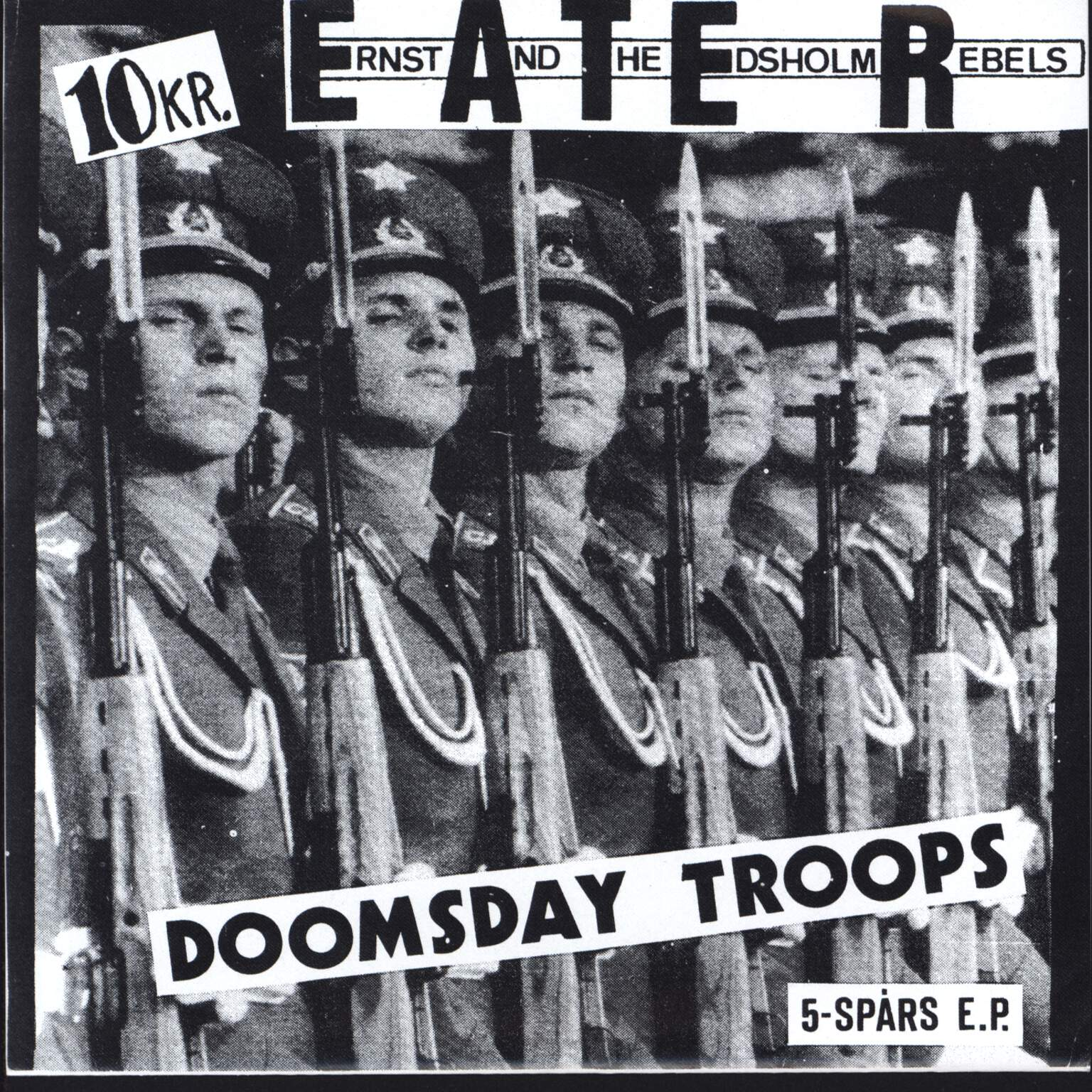 "Ernst And The Edsholm Rebels: Doomsday Troops - 5-Spårs E.P., 7"" Single (Vinyl)"