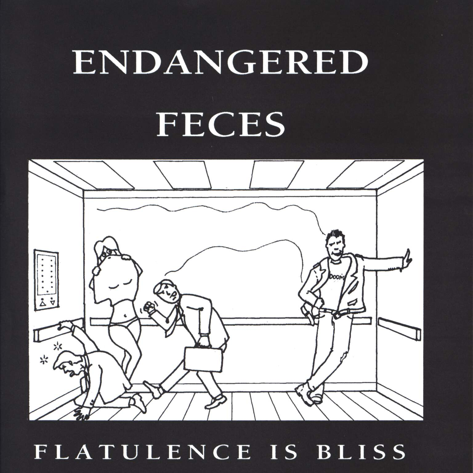 "Endangered Feces: Flatulence Is Bliss, 7"" Single (Vinyl)"