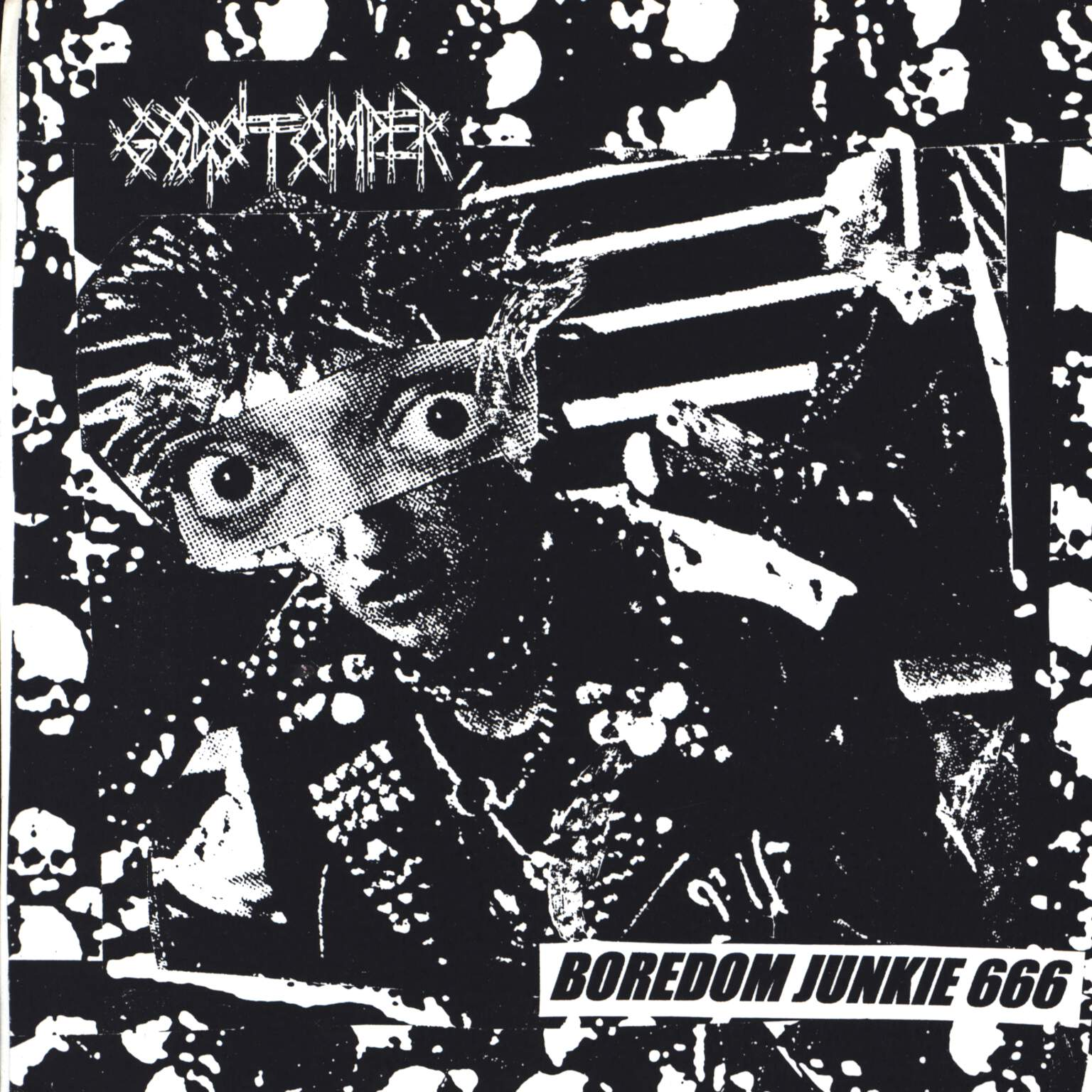 "Godstomper: Boredom Junkie 666 / Untitled, 7"" Single (Vinyl)"