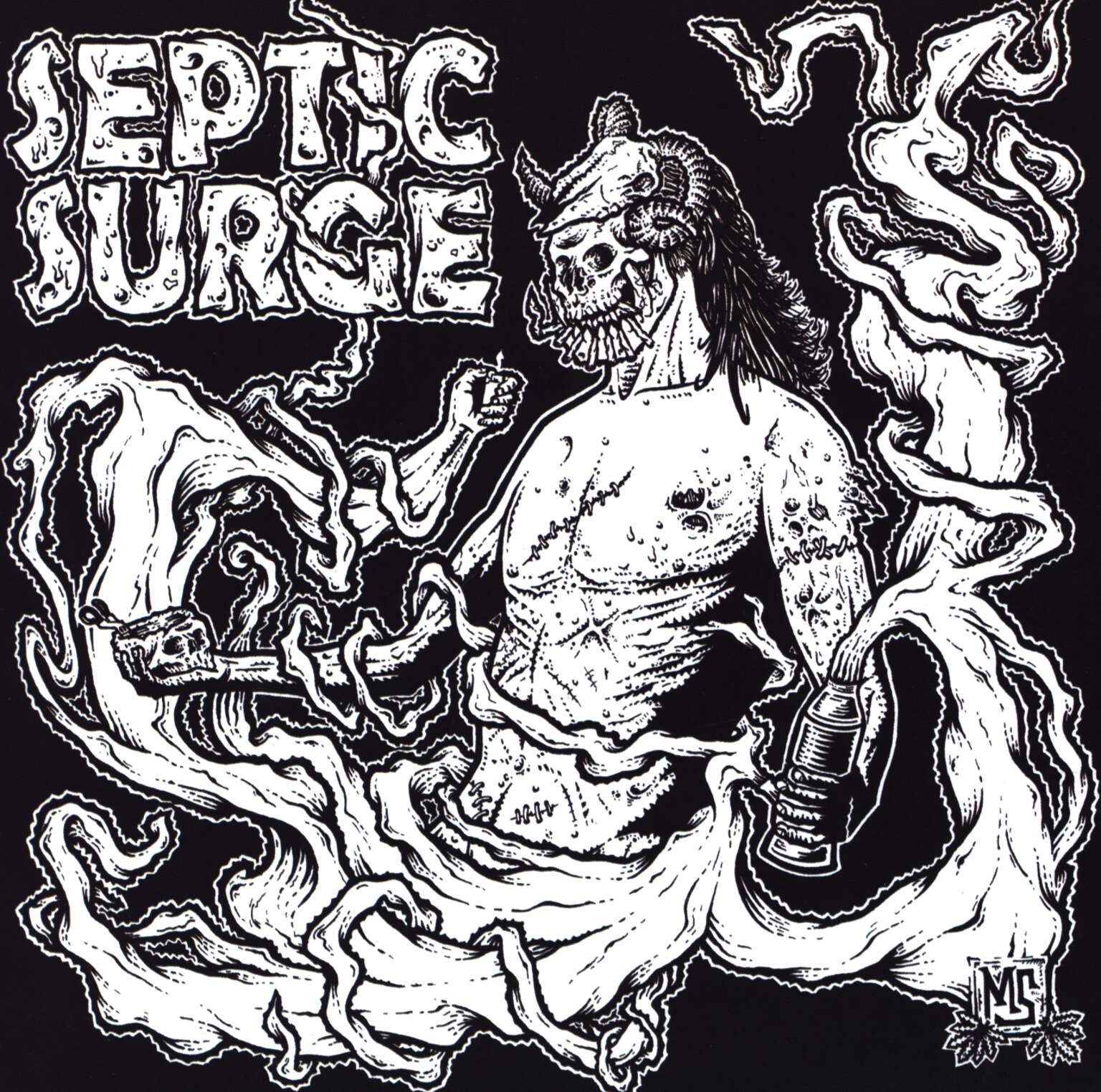 "Extortion: Extortion / Septic Surge, 7"" Single (Vinyl)"