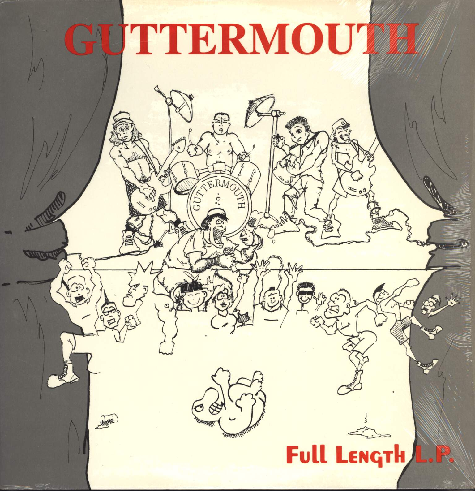 Guttermouth: Full Length LP, LP (Vinyl)