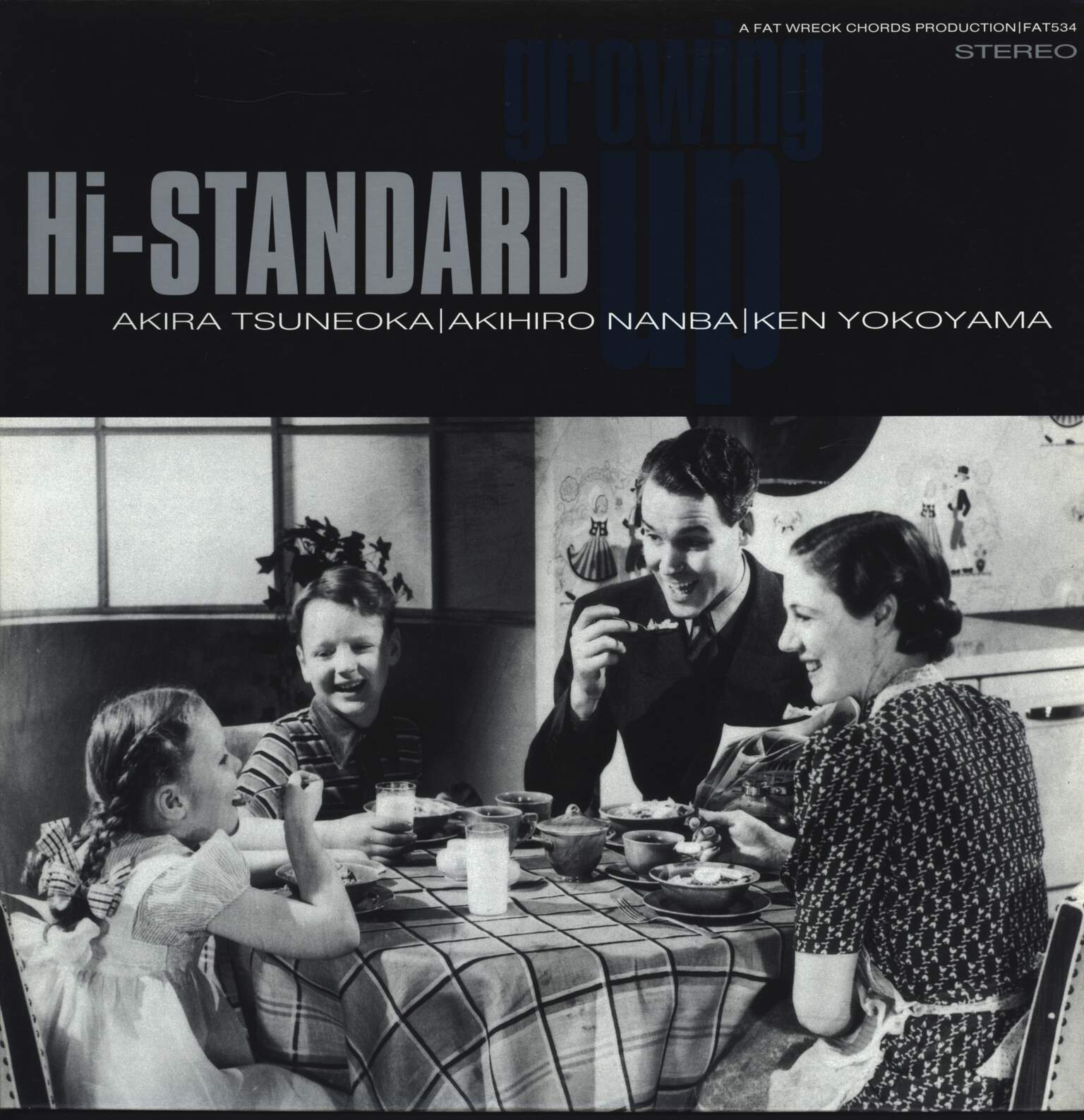Hi-Standard: Growing Up, LP (Vinyl)