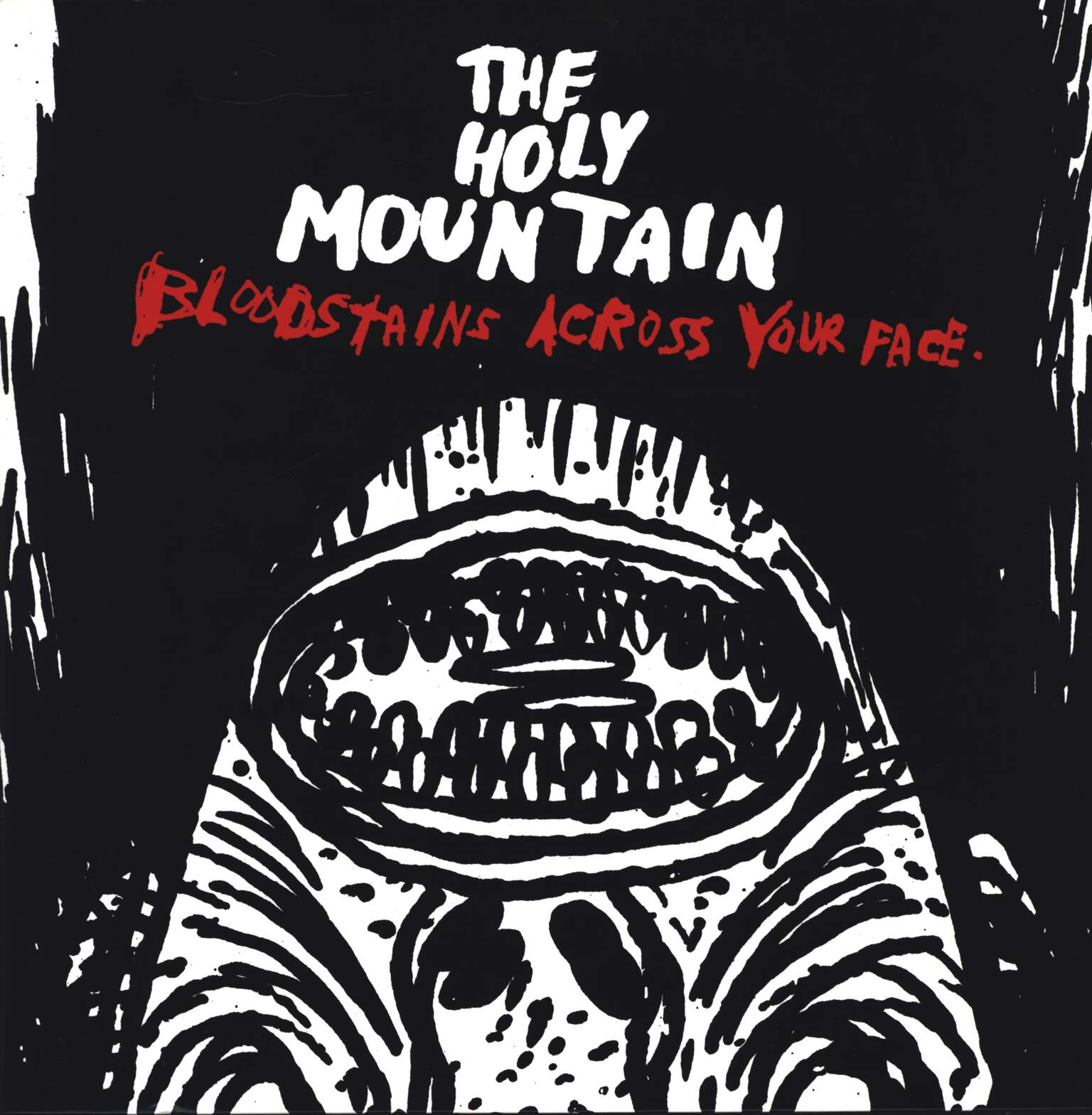 "The Holy Mountain: Bloodstains Across Your Face, 12"" Maxi Single (Vinyl)"