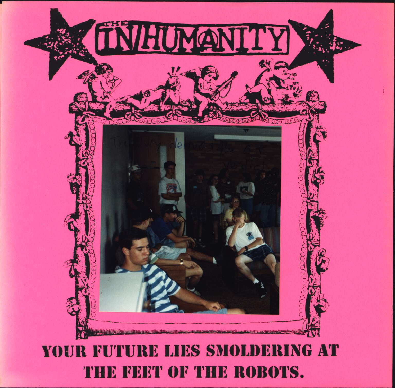 "In/Humanity: Your Future Lies Smoldering At The Feet Of The Robots, 7"" Single (Vinyl)"