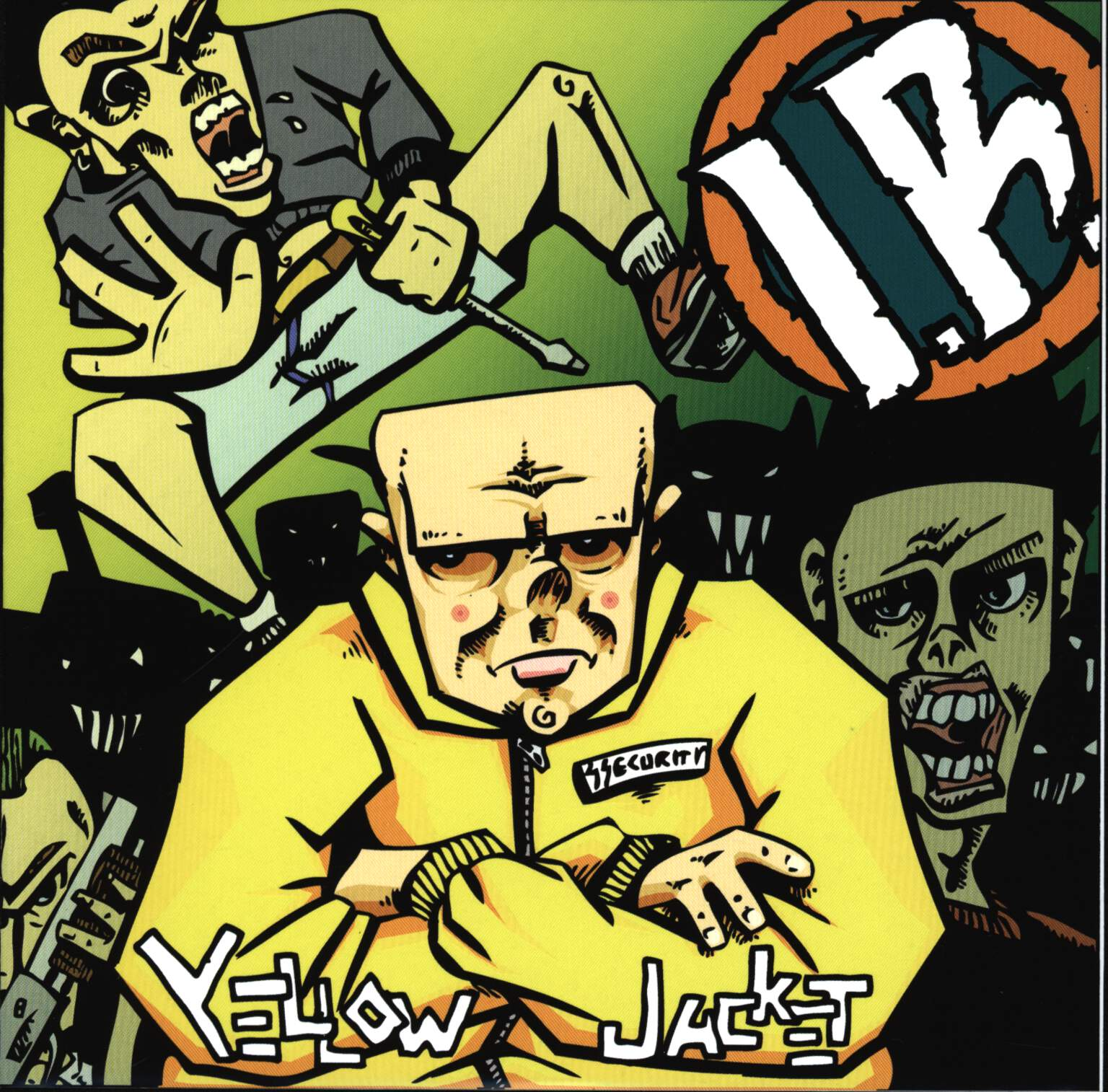 "Insurgent Rat: Yellow Jacket, 7"" Single (Vinyl)"