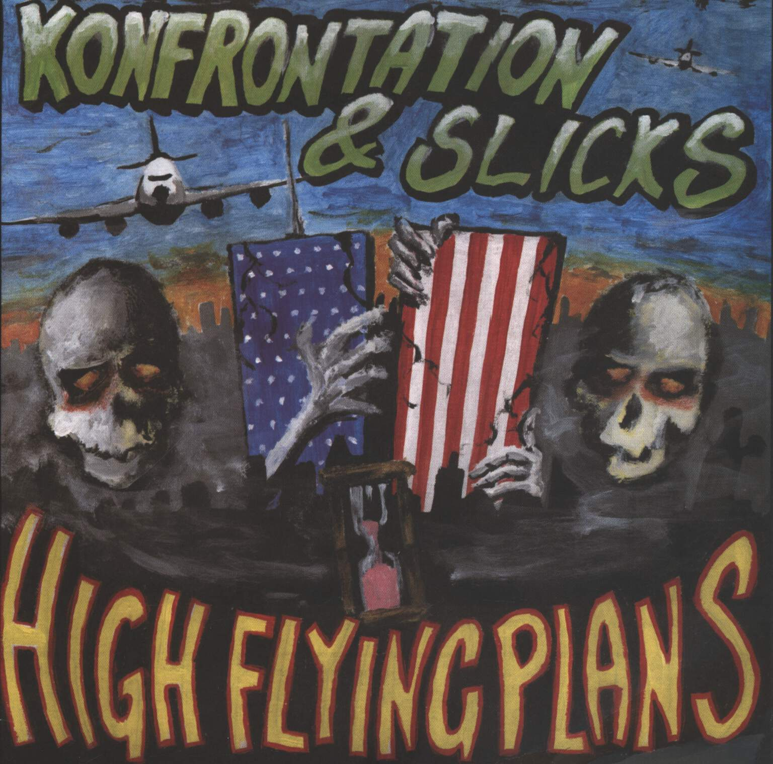 "Konfrontation: High Flying Plans, 7"" Single (Vinyl)"