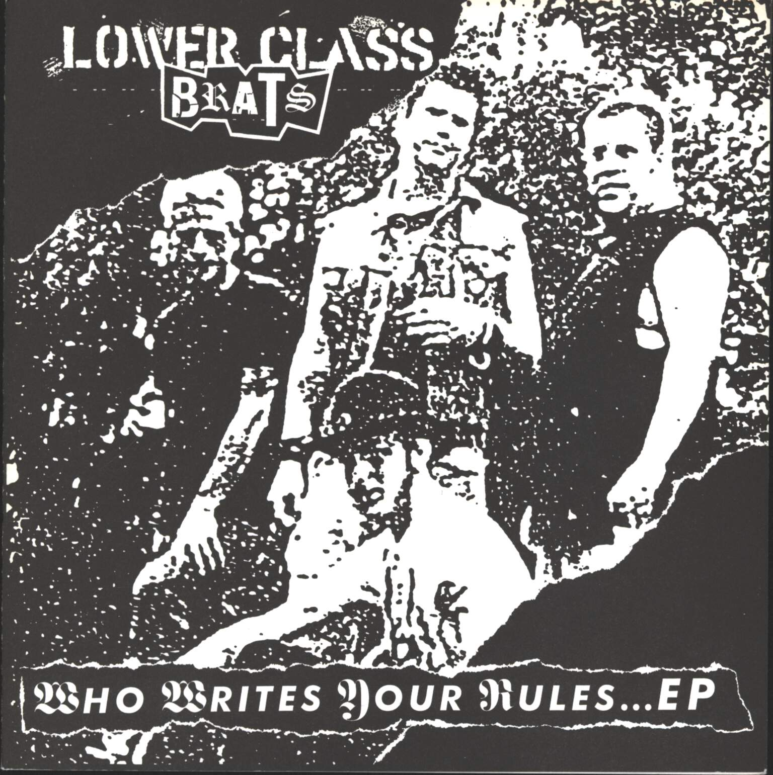 "Lower Class Brats: Who Writes Your Rules... EP, 7"" Single (Vinyl)"