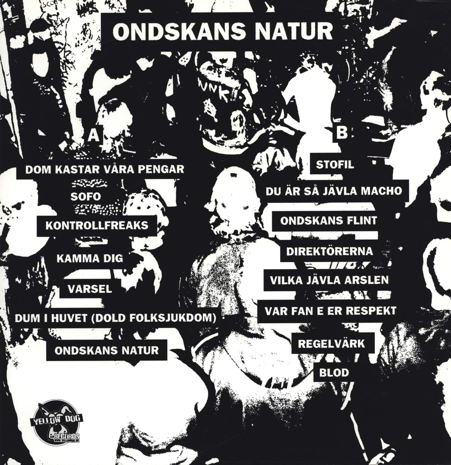 "Makabert Fynd: Ondskans Natur, 12"" Maxi Single (Vinyl)"