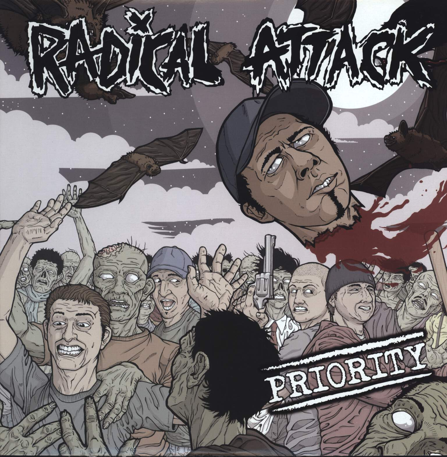 "Radical Attack: Priority, 12"" Maxi Single (Vinyl)"