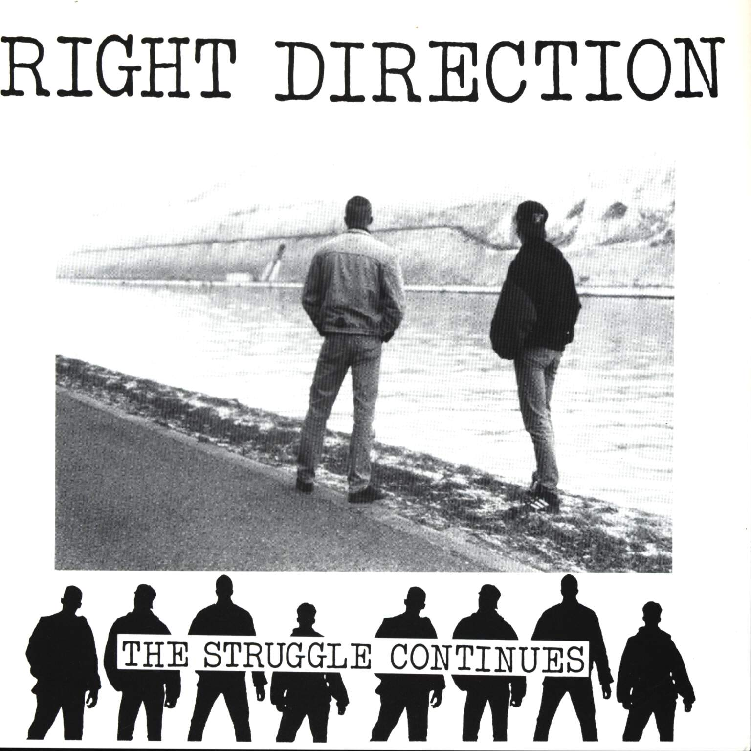 "Right Direction: The Struggle Continues, 7"" Single (Vinyl)"