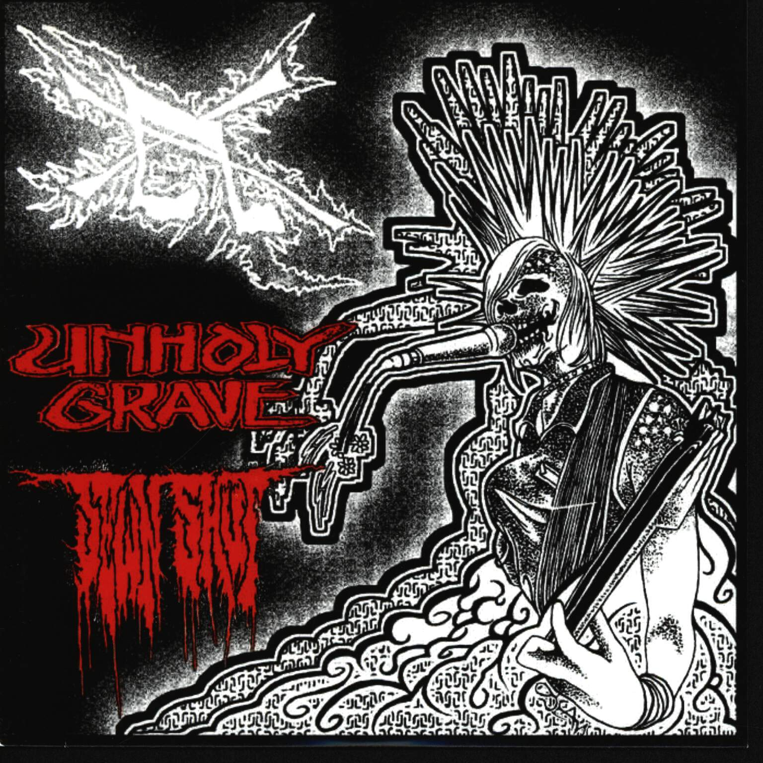 "Unholy Grave: Unholy Grave / Sewn Shut, 7"" Single (Vinyl)"
