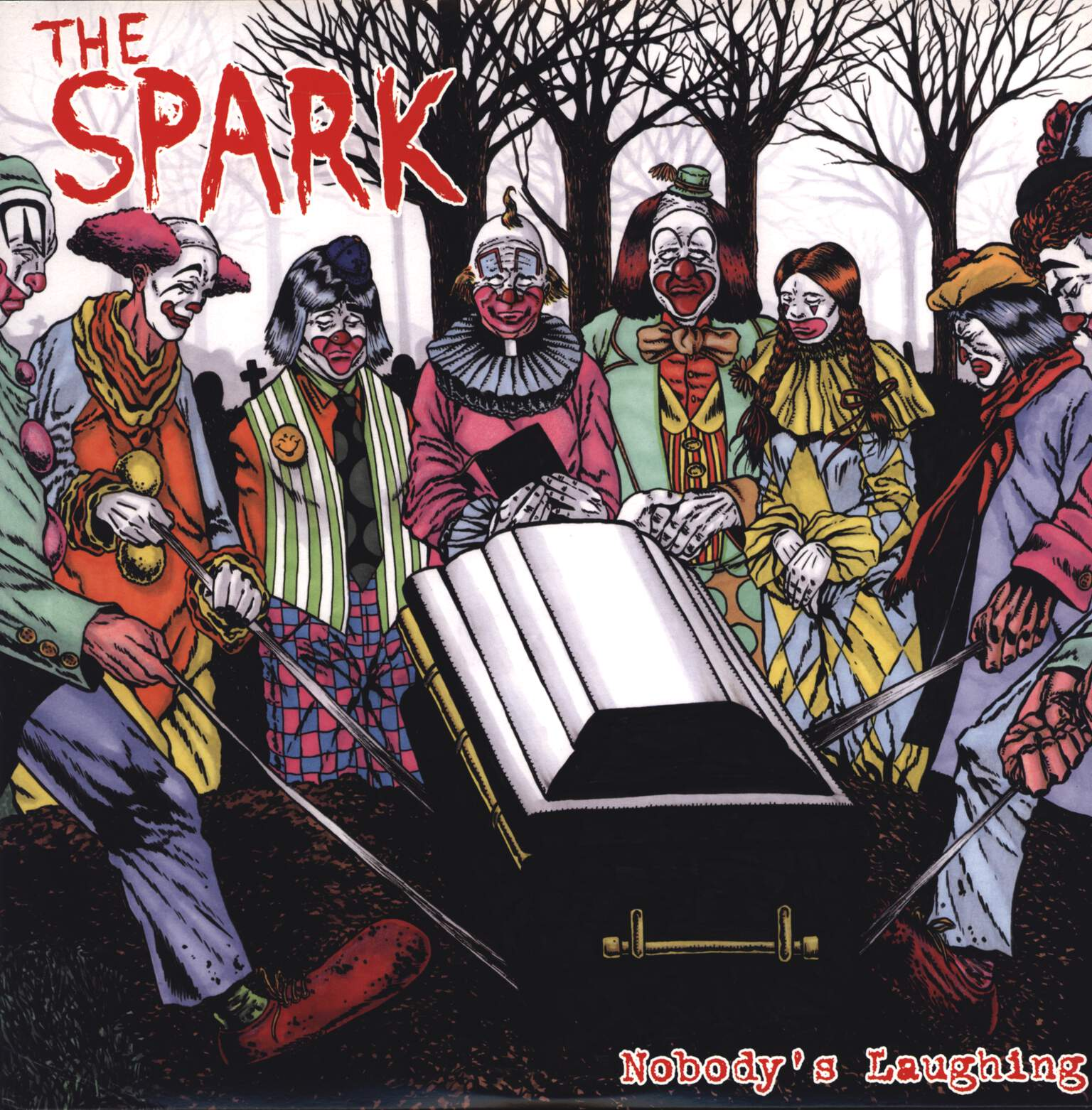 "The Spark: Nobody's Laughing, 12"" Maxi Single (Vinyl)"