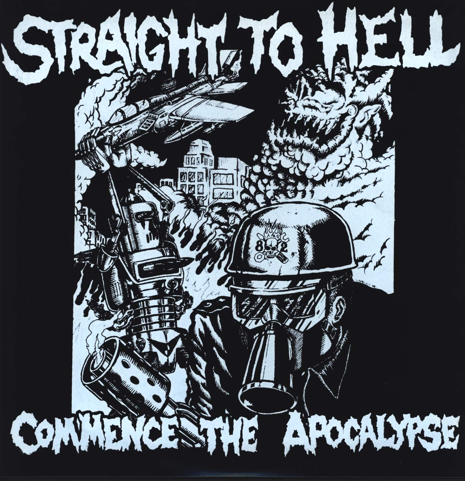 "Straight To Hell: Commence The Apocalypse, 12"" Maxi Single (Vinyl)"