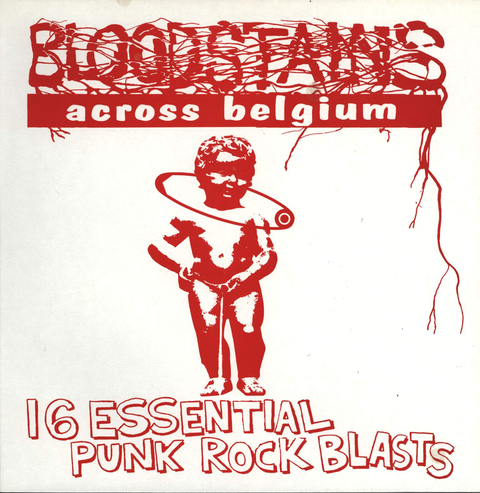 Various: Bloodstains Across Belgium, LP (Vinyl)