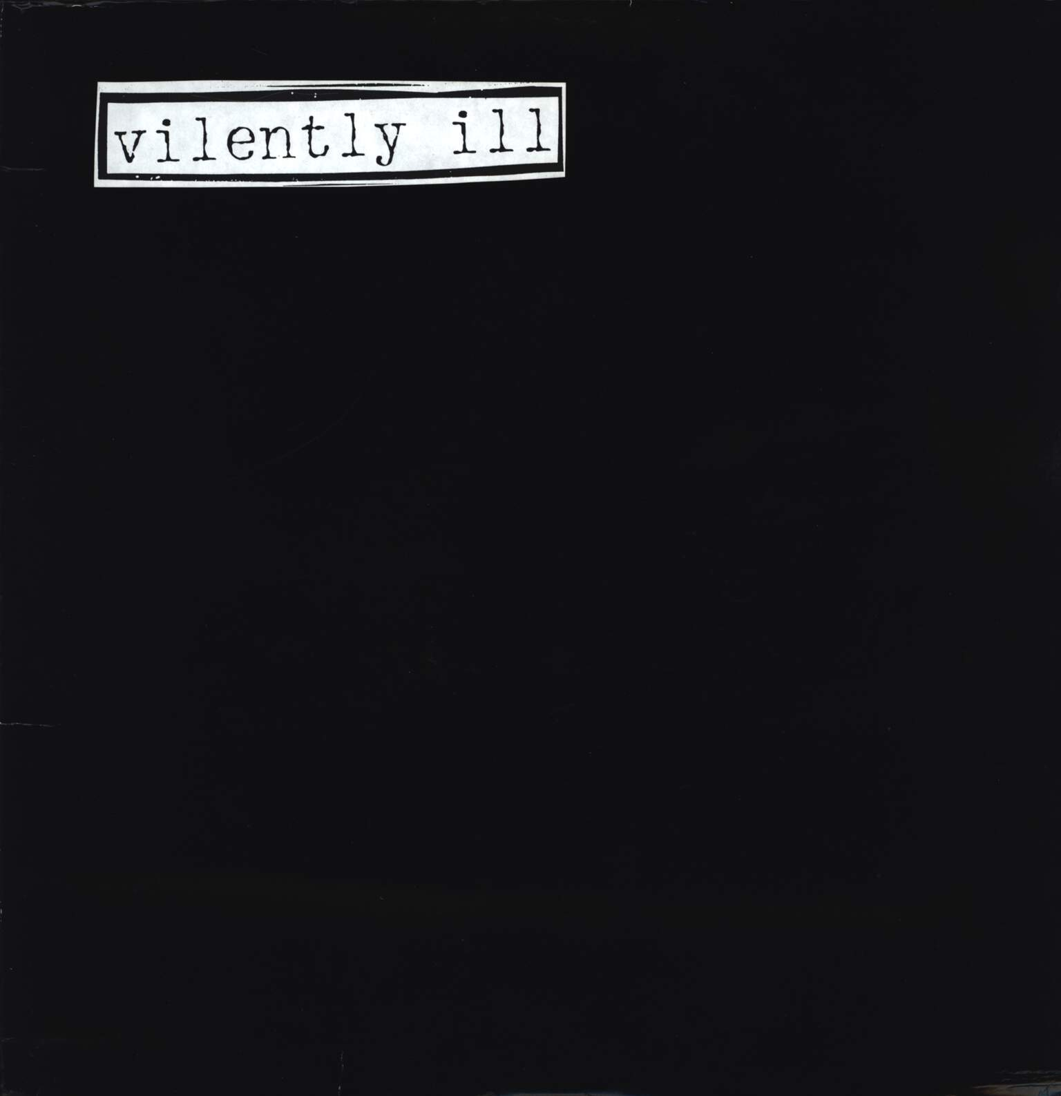 "Vilently Ill: Group Hug, 12"" Maxi Single (Vinyl)"