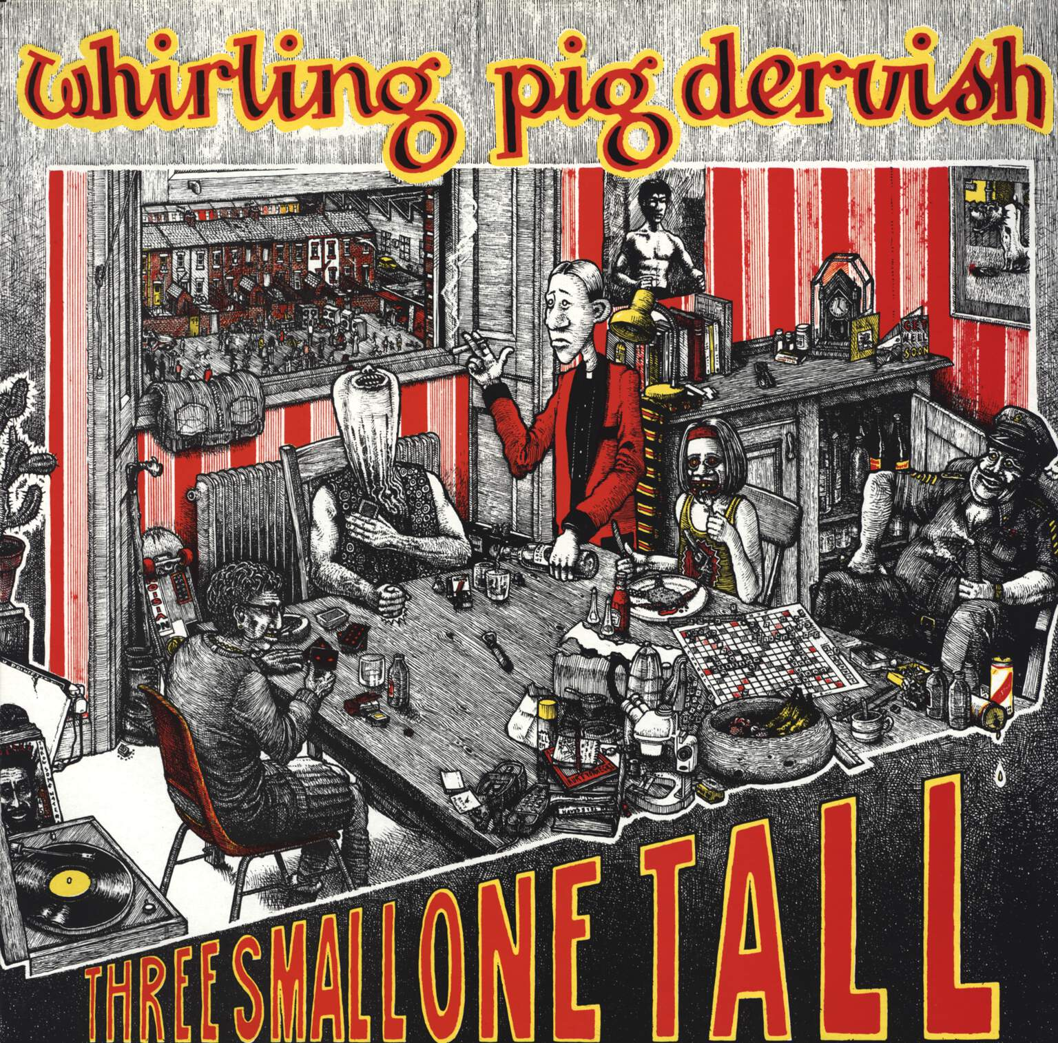 Whirling Pig Dervish: Three Small One Tall, LP (Vinyl)