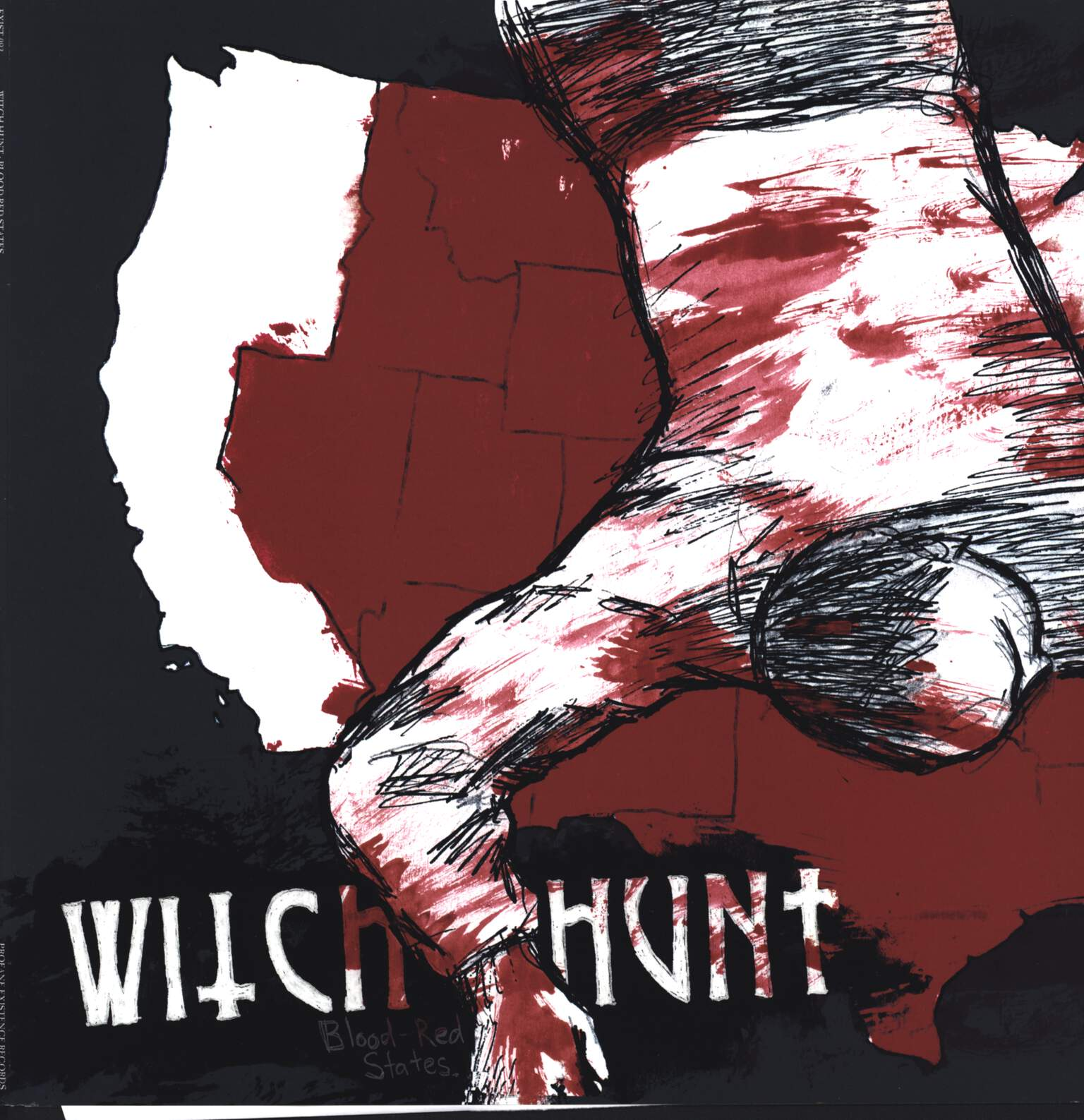 Witch Hunt: Blood-Red States, LP (Vinyl)