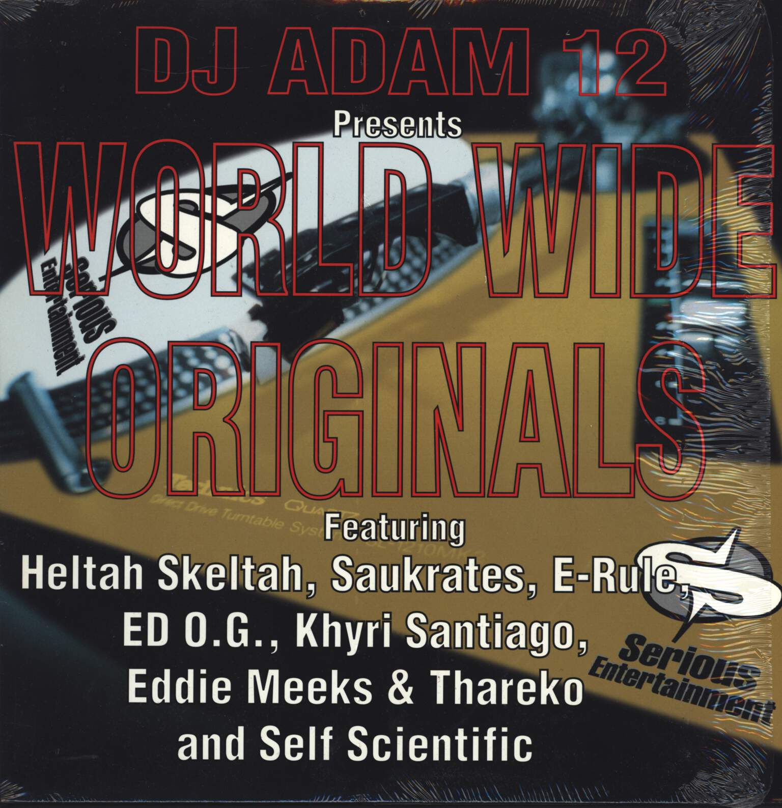 "DJ Adam 12: Presents World Wide Originals, 12"" Maxi Single (Vinyl)"