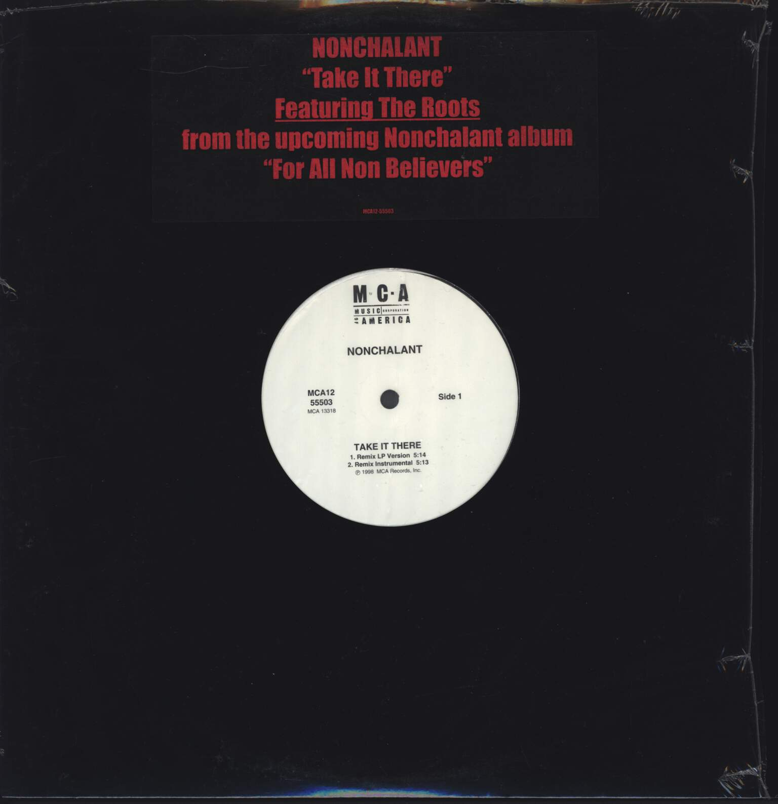 "Nonchalant: Take It There, 12"" Maxi Single (Vinyl)"