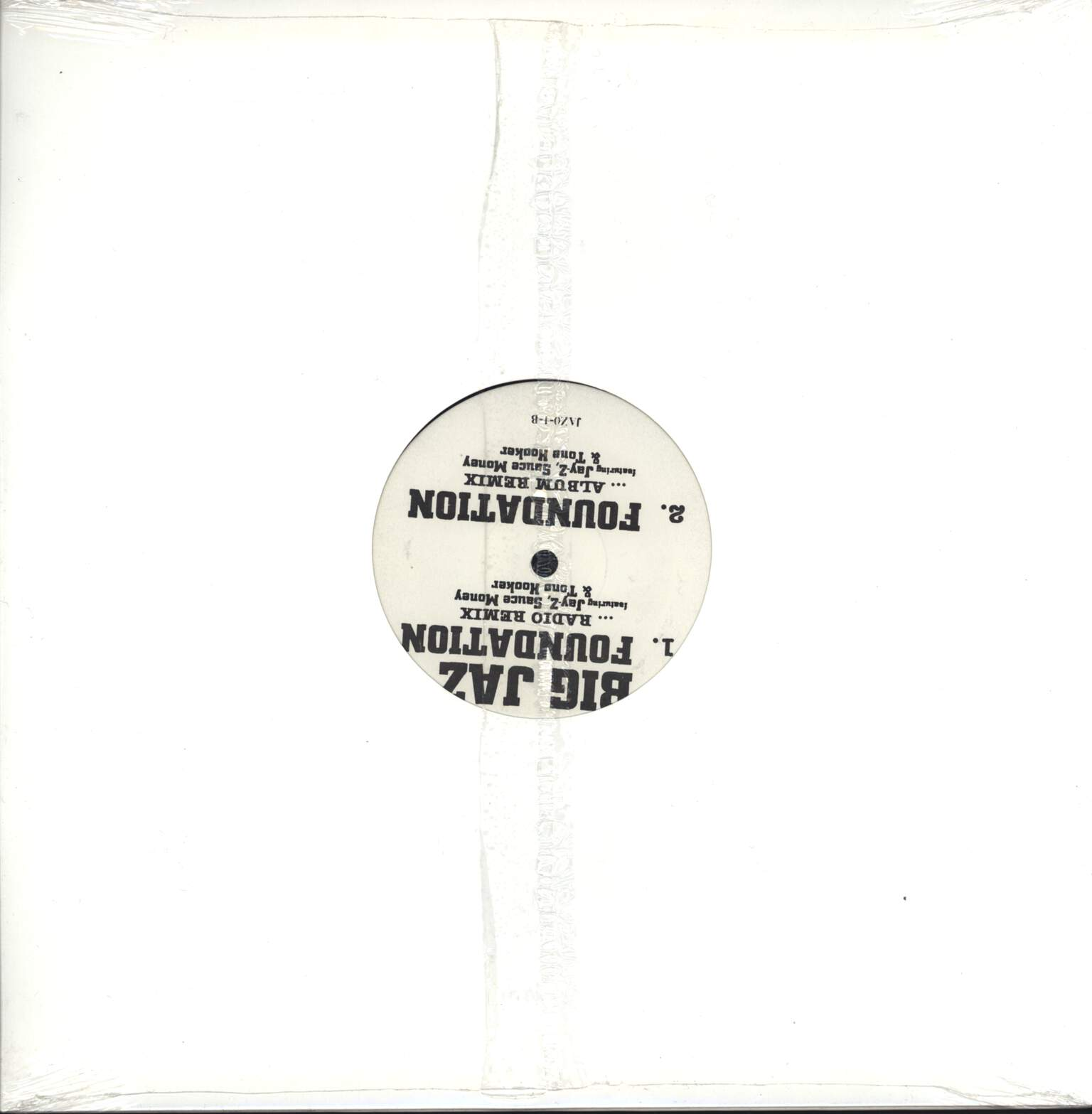 "Big Jaz: Jaz-O / Foundation (Remix), 12"" Maxi Single (Vinyl)"