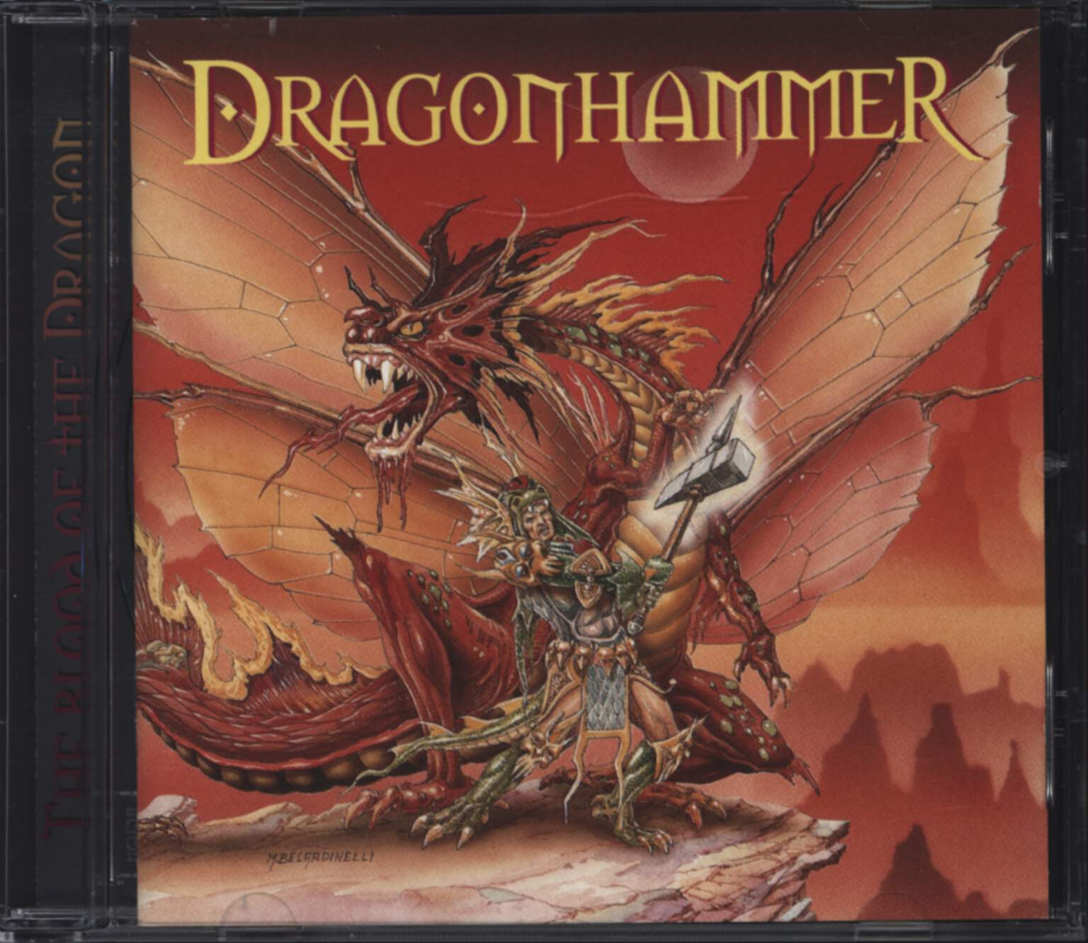 Dragonhammer: The Blood Of The Dragon, CD