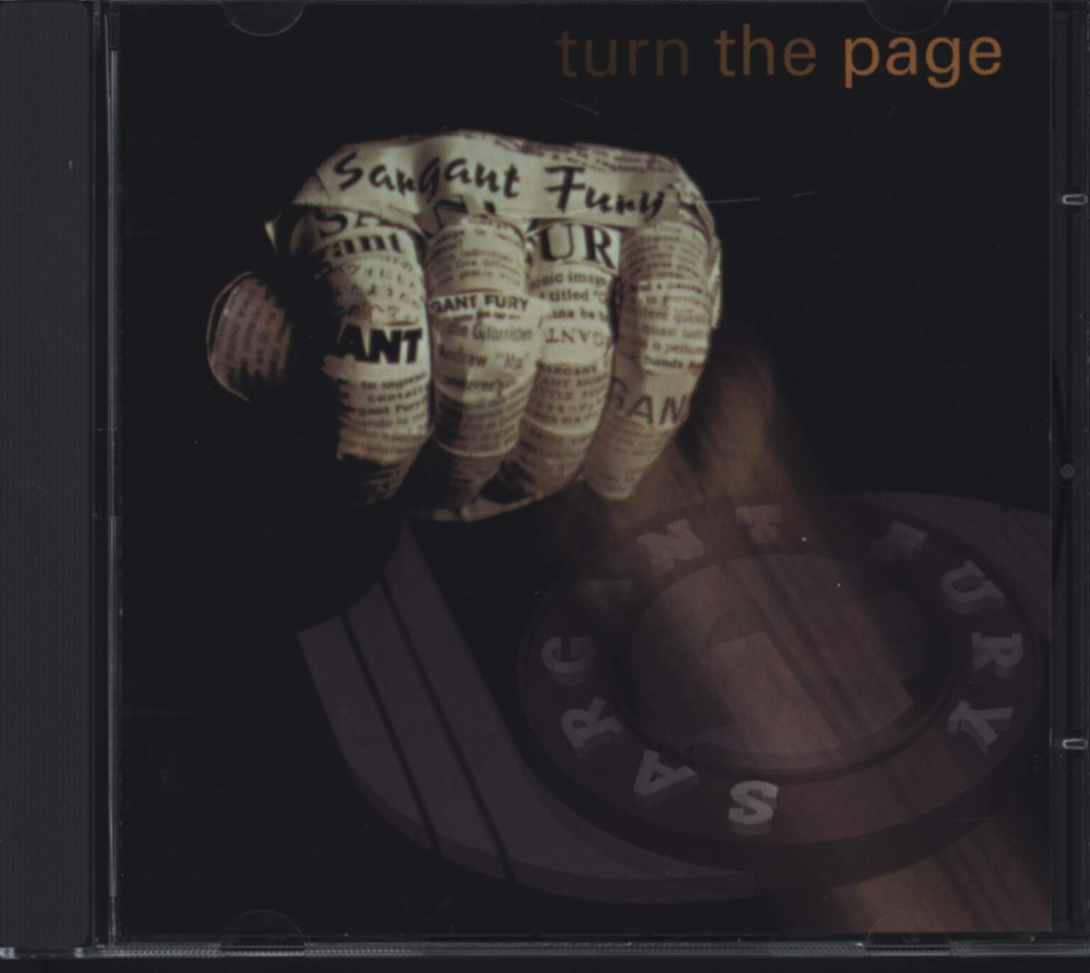 Sargant Fury: Turn The Page, CD